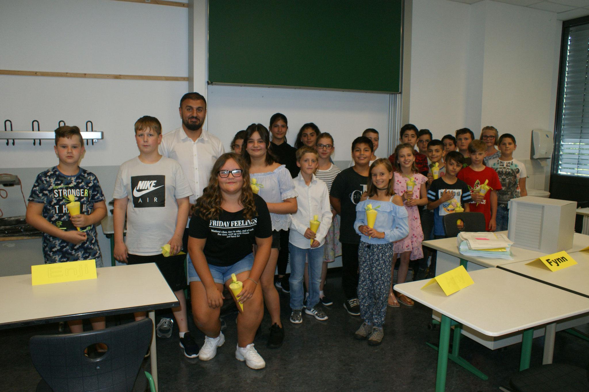 Klasse 5a, Klassenlehrer Hassan Khateeb