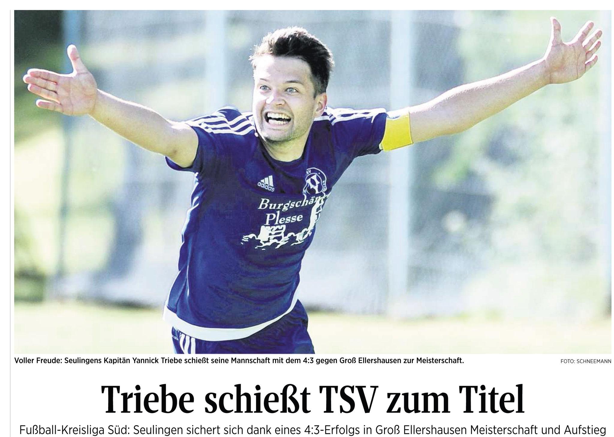 TSV Seulingen wird Meister