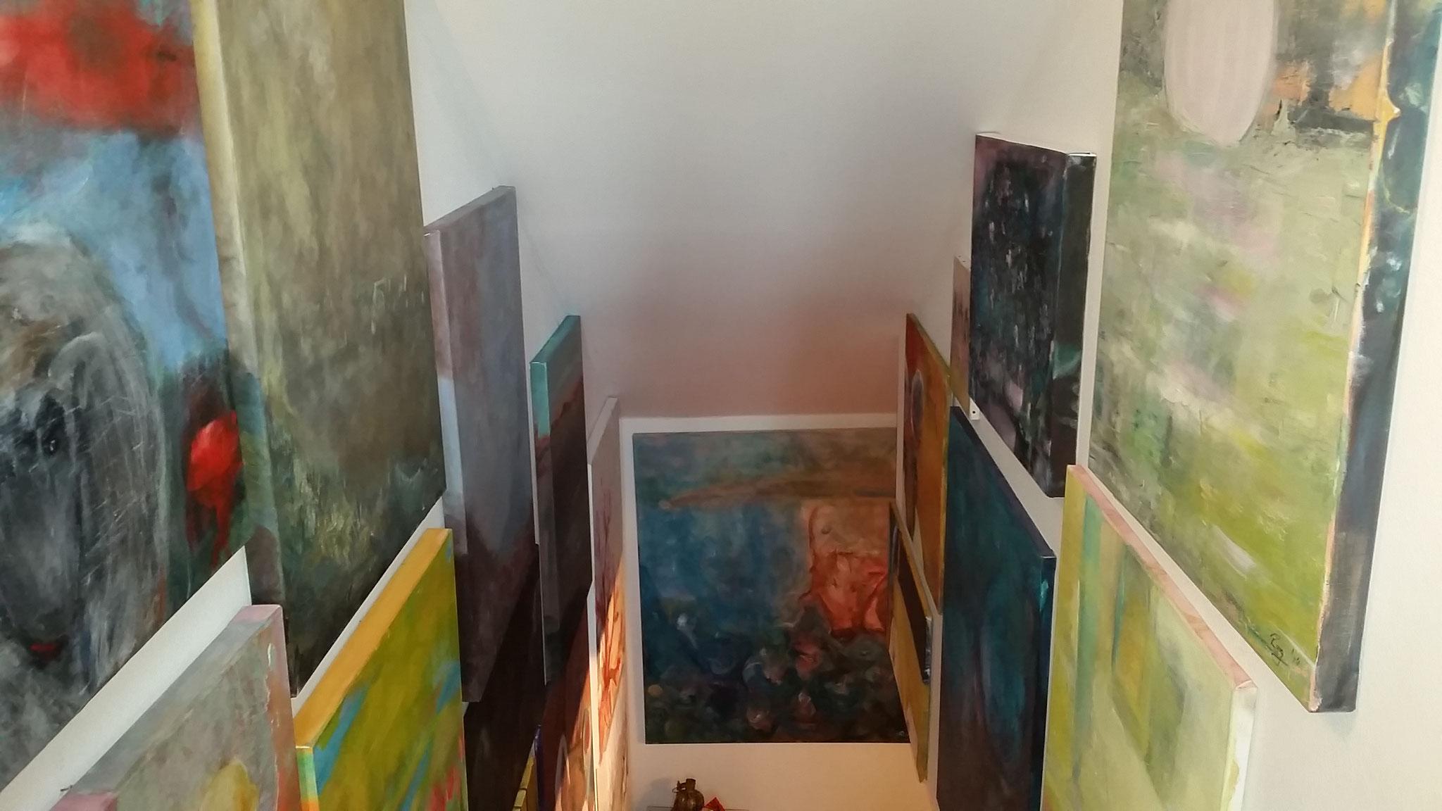 Treppen-Galerie 8, Maler Künstlerin Bozana