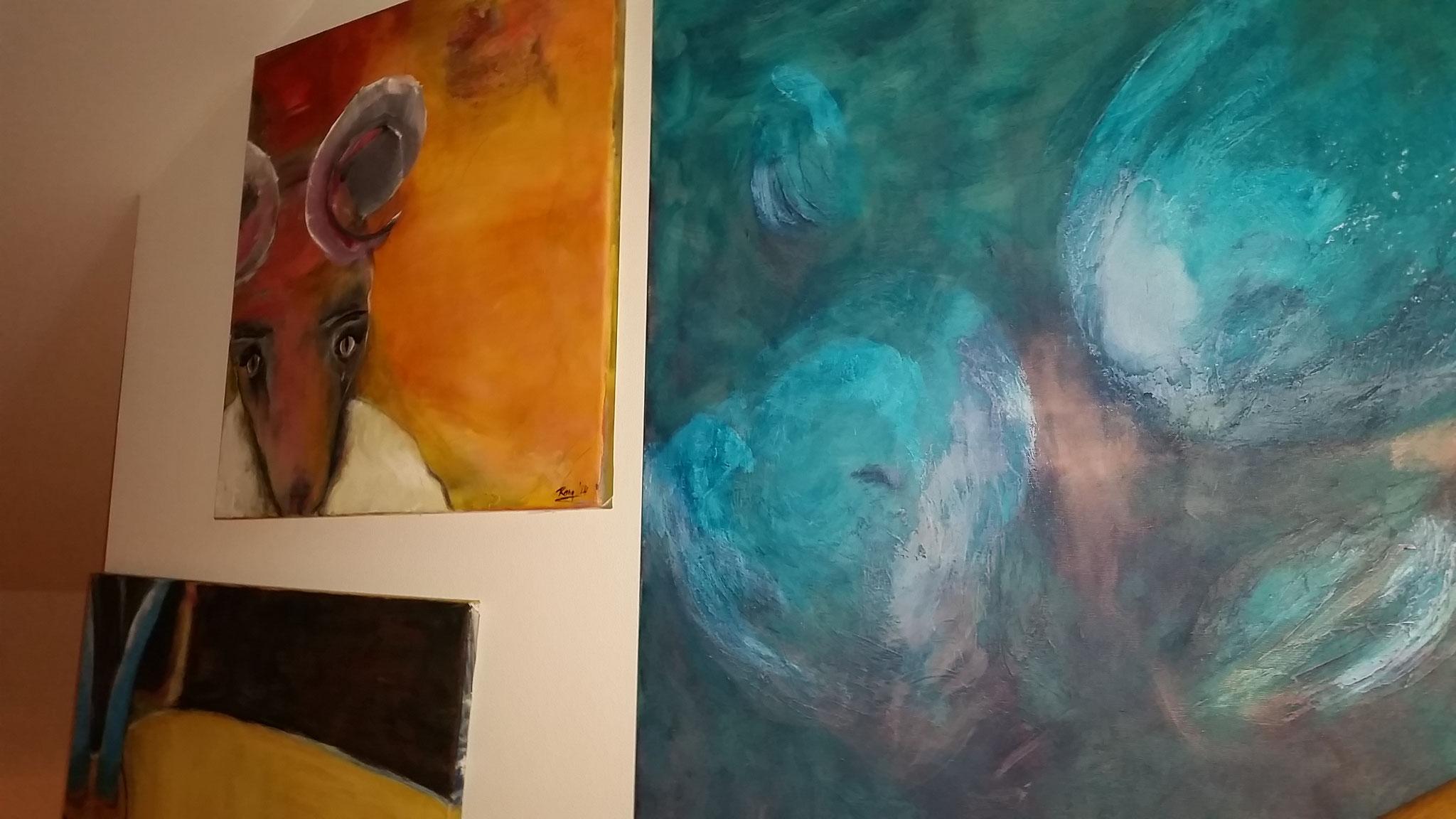 Treppen-Galerie 7, Maler Künstlerin Bozana
