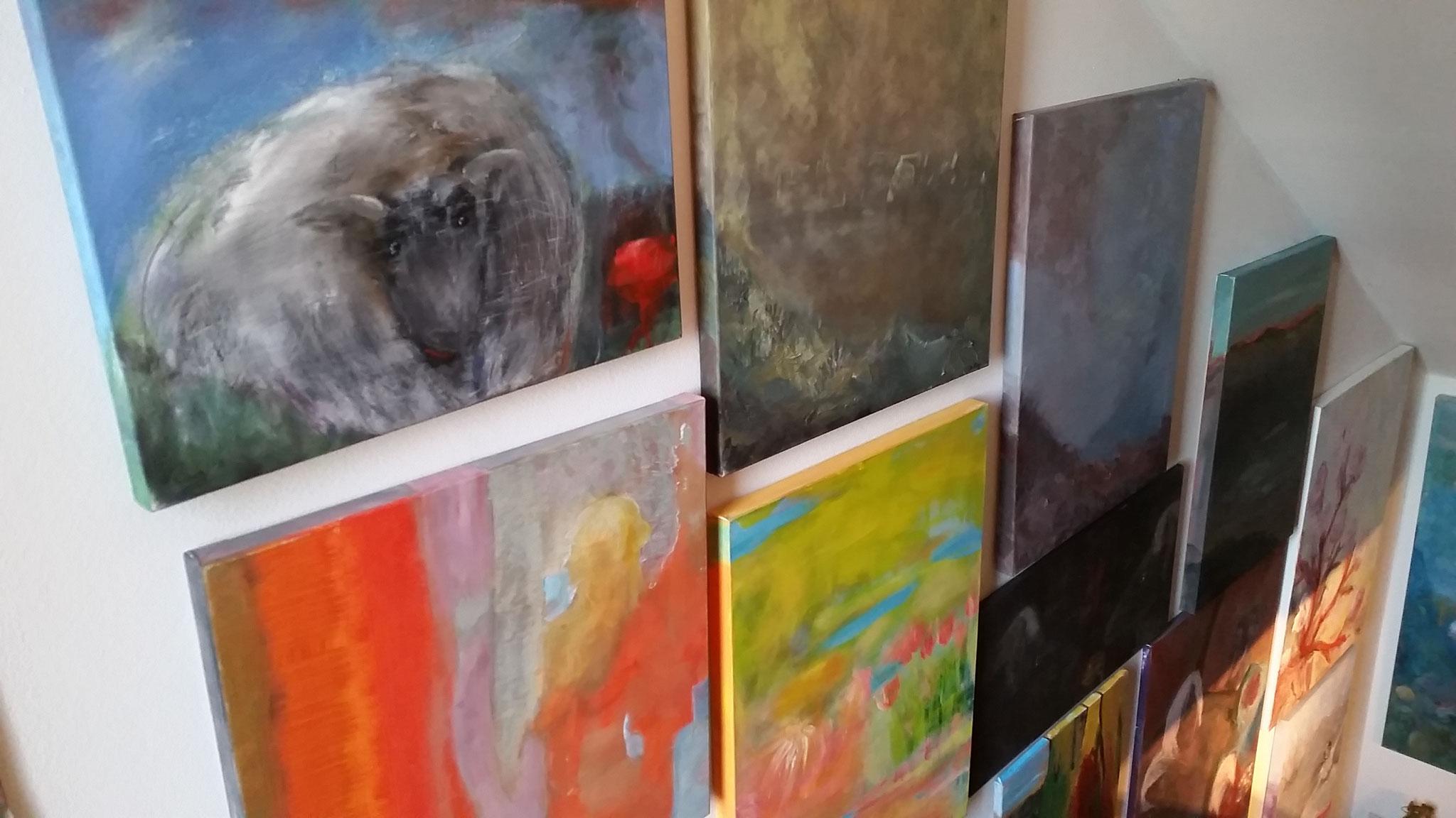 Treppen-Galerie 3, Maler Künstlerin Bozana