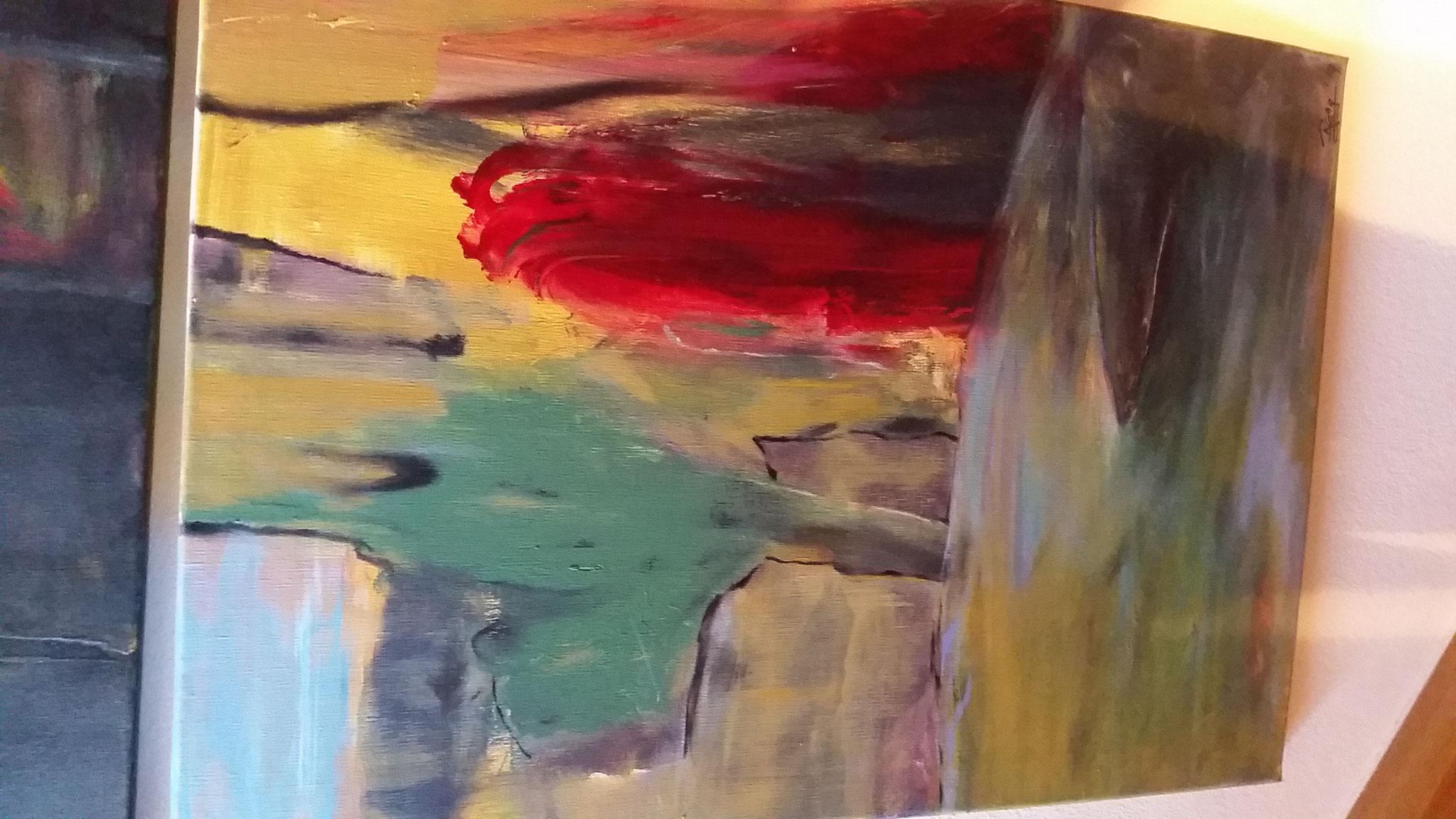 Treppen-Galerie 12, Maler Künstlerin Bozana