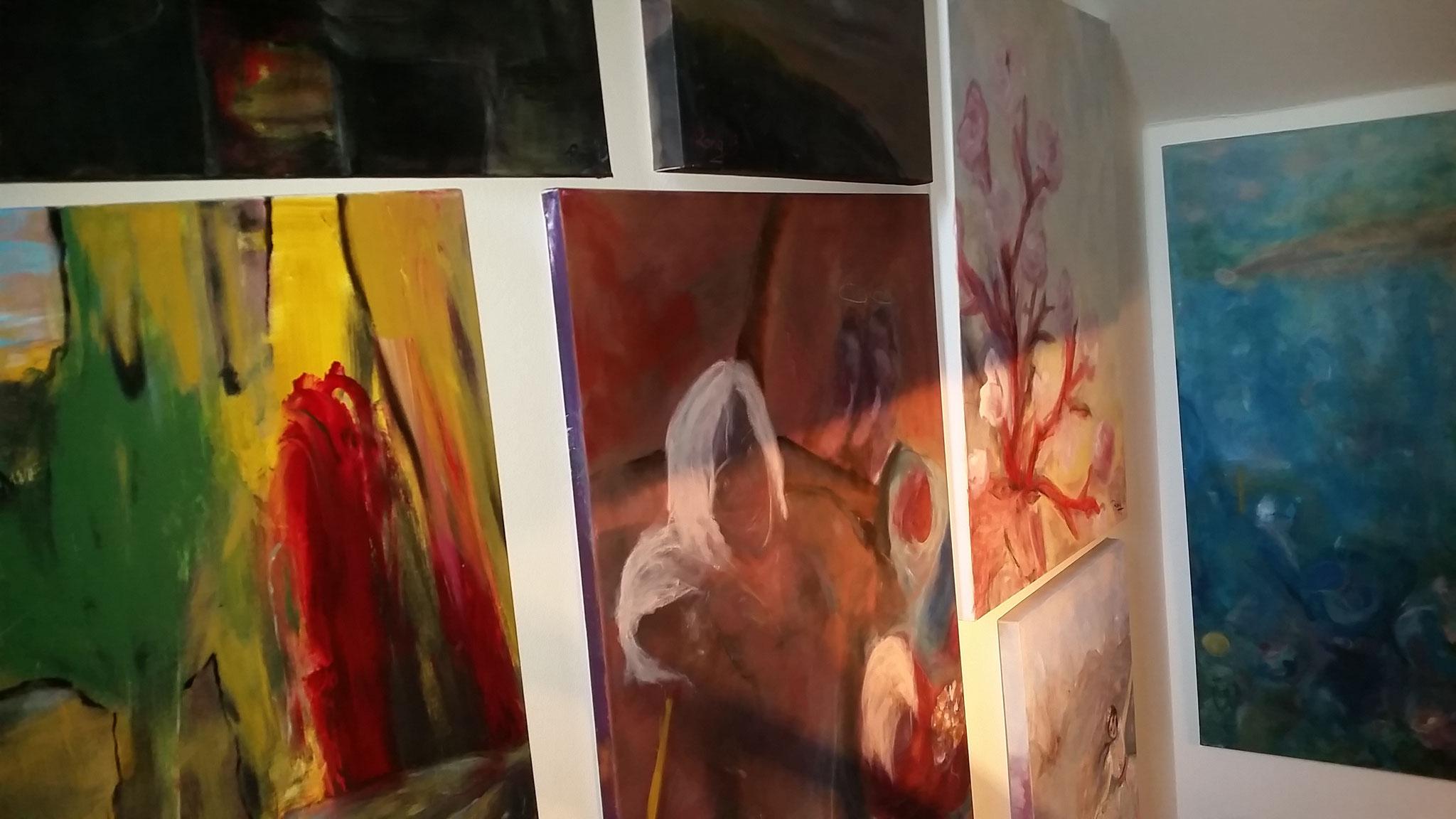 Treppen-Galerie 6, Maler Künstlerin Bozana