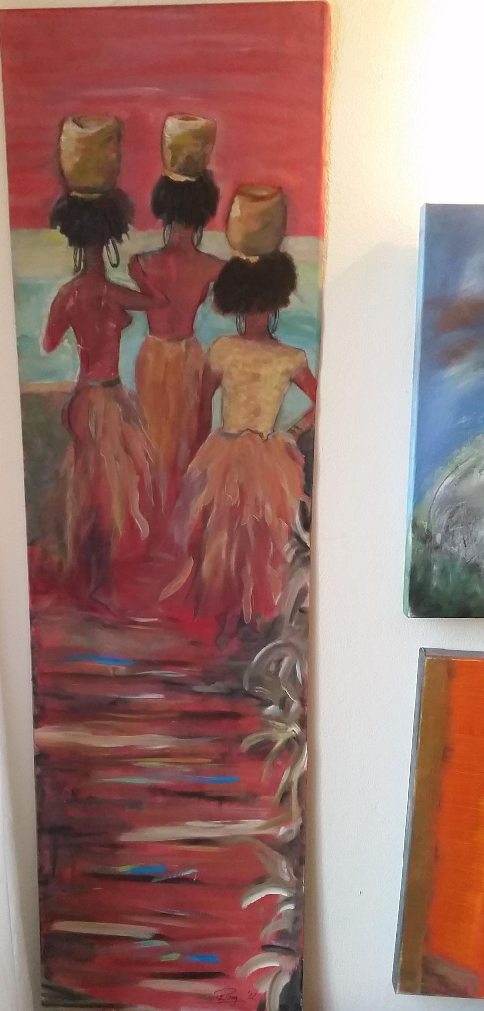 Treppen-Galerie 4, Maler Künstlerin Bozana