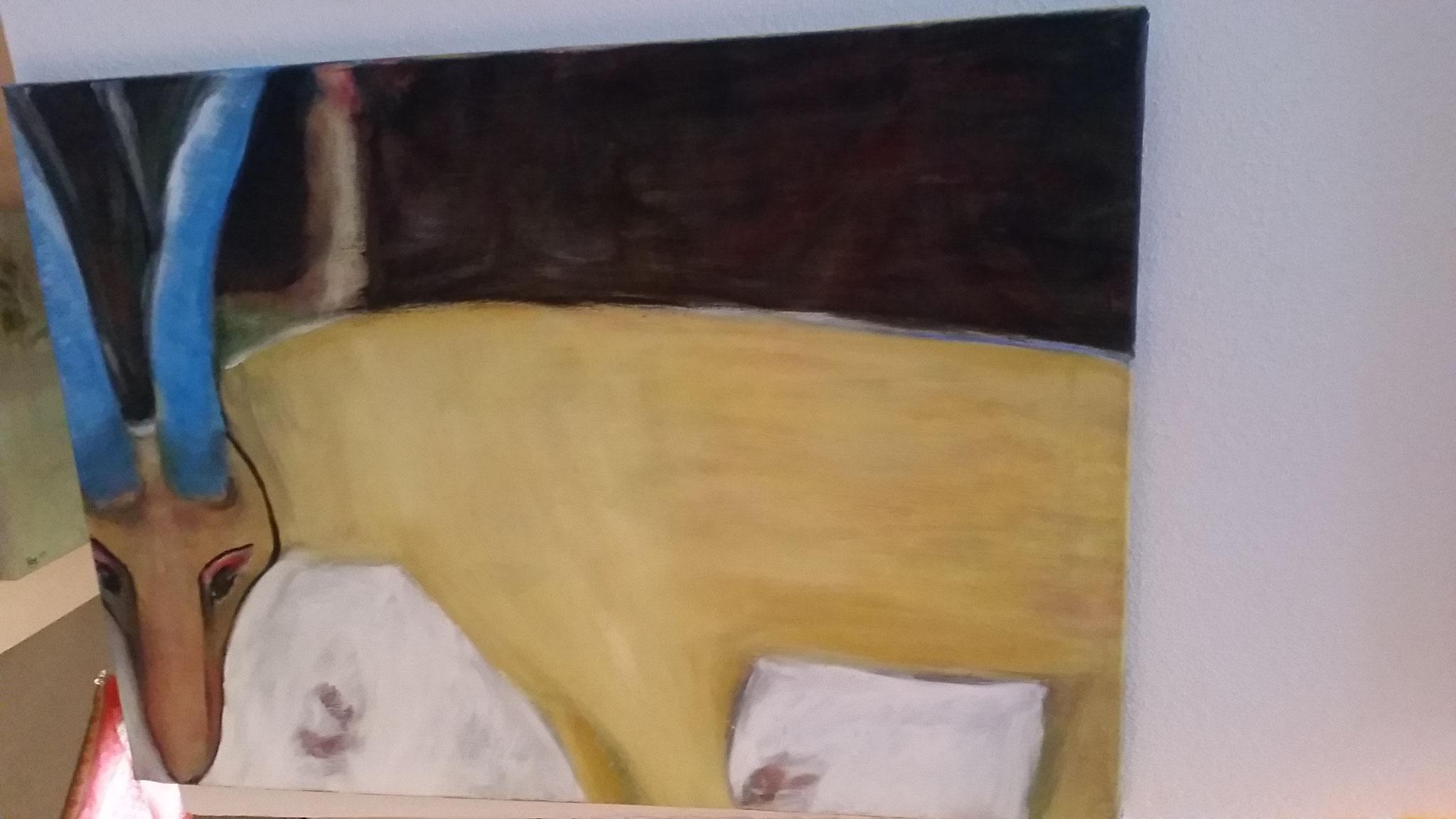Treppen-Galerie 14, Maler Künstlerin Bozana
