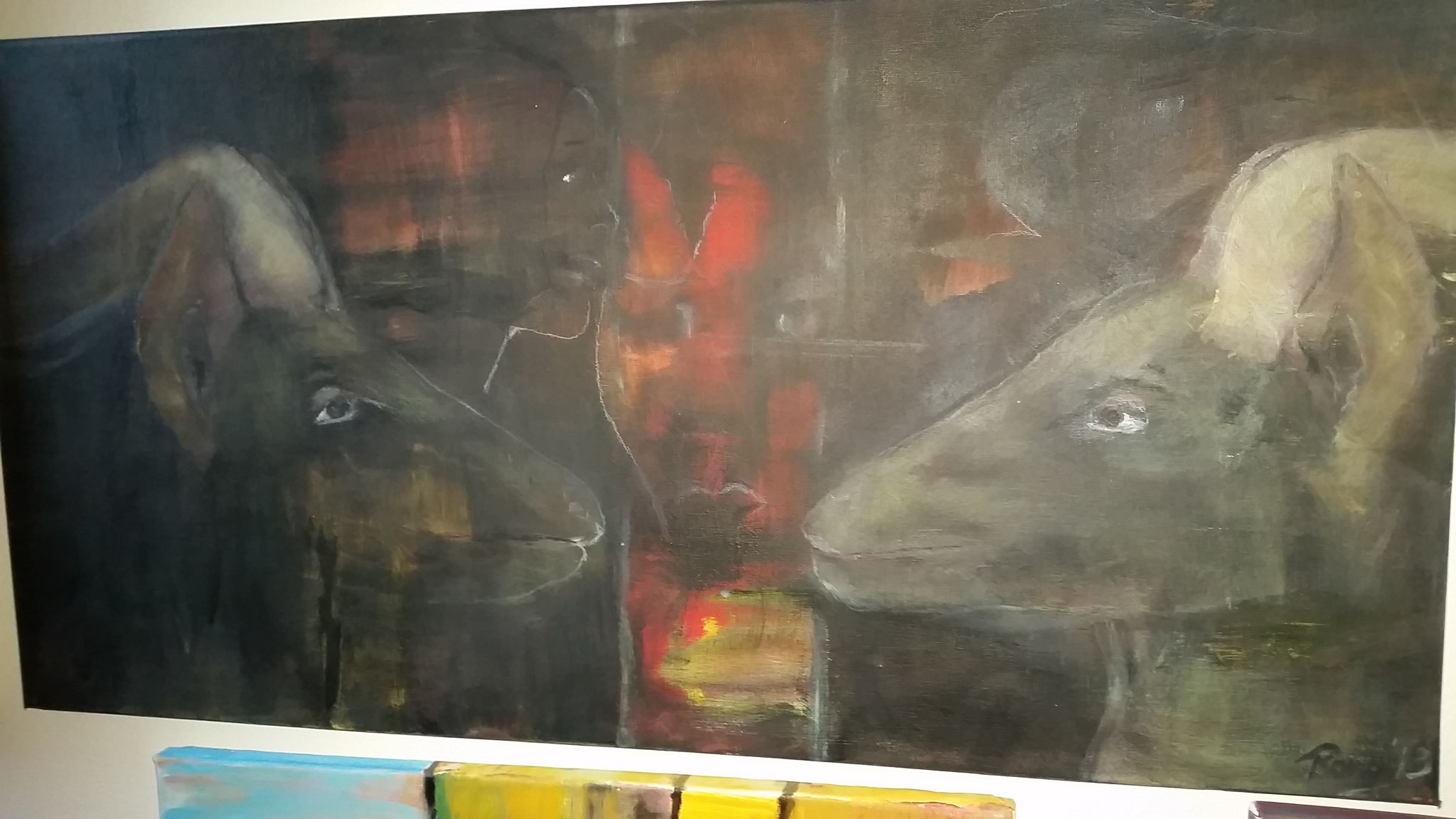 Treppen-Galerie 9, Maler Künstlerin Bozana