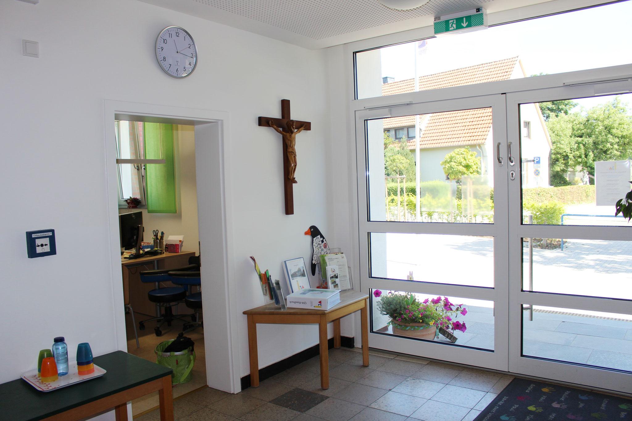 Eingangsbereich Ansicht 3