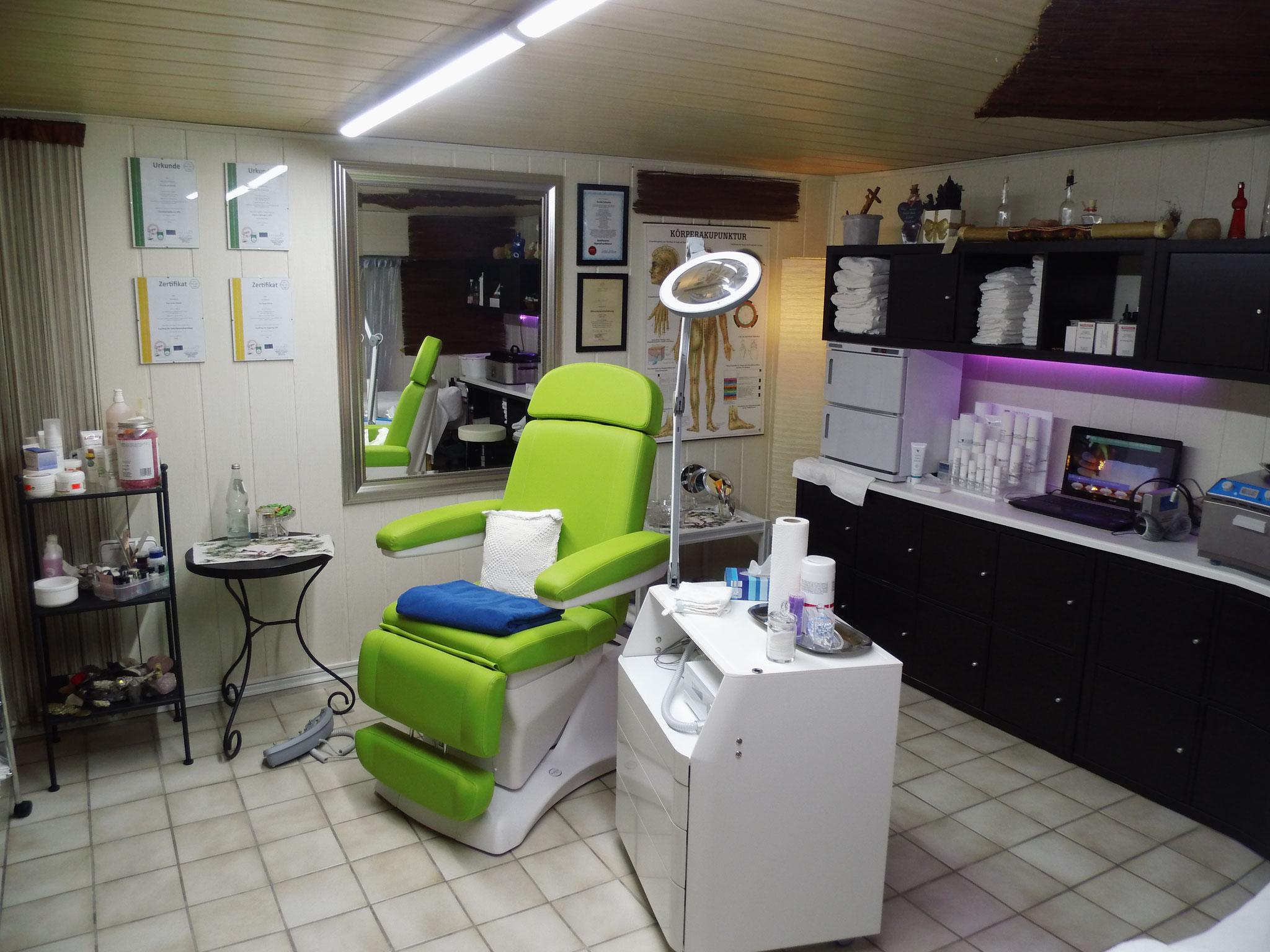 Mein Studio für Massagen, Kosmetik und Fußpflege