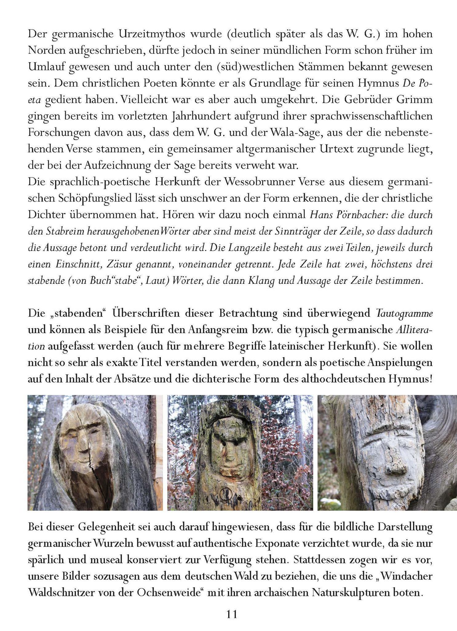 Wessobrunner Gebet - Booklet Seite 11