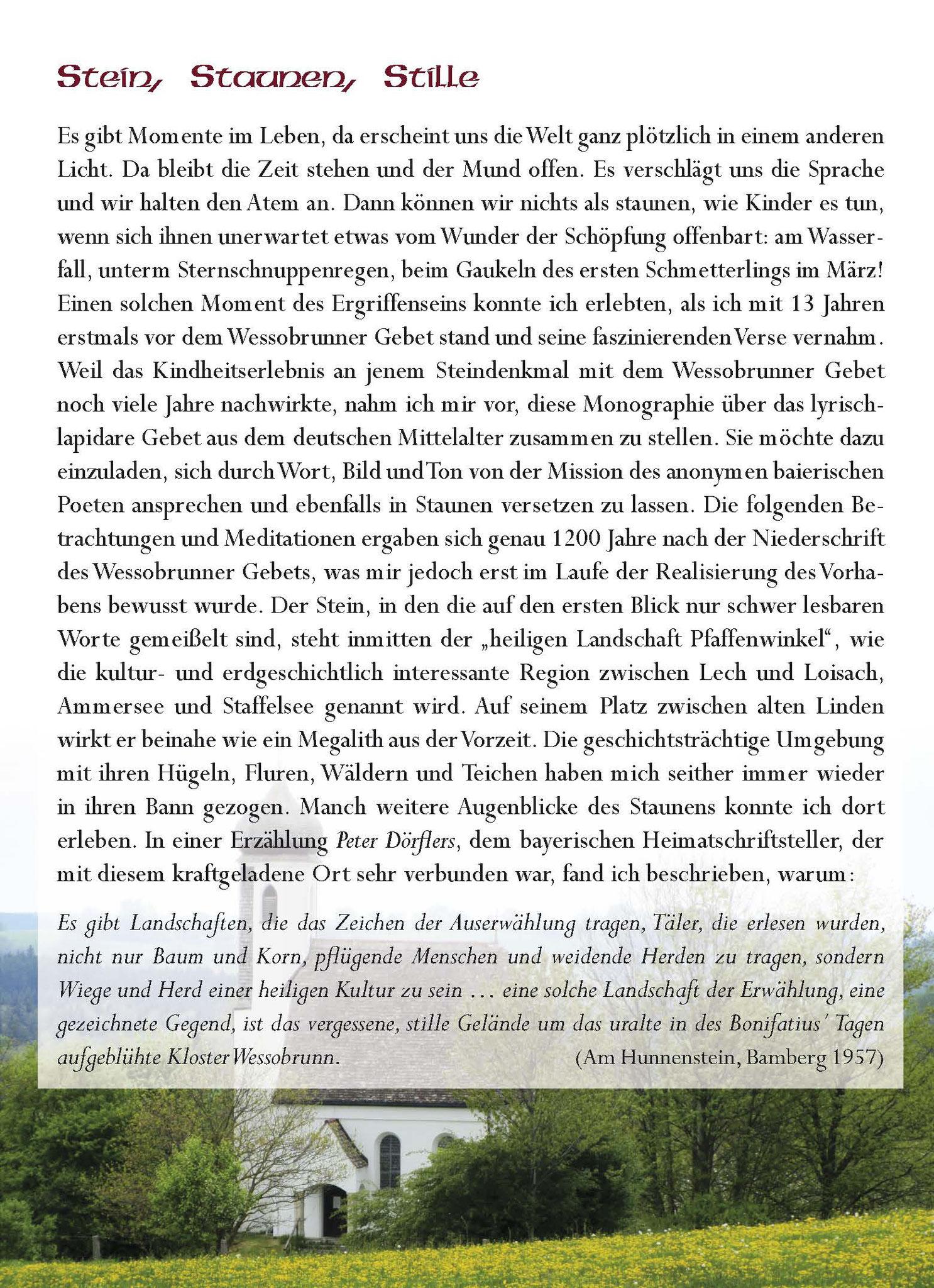 Wessobrunner Gebet - Booklet Seite 3