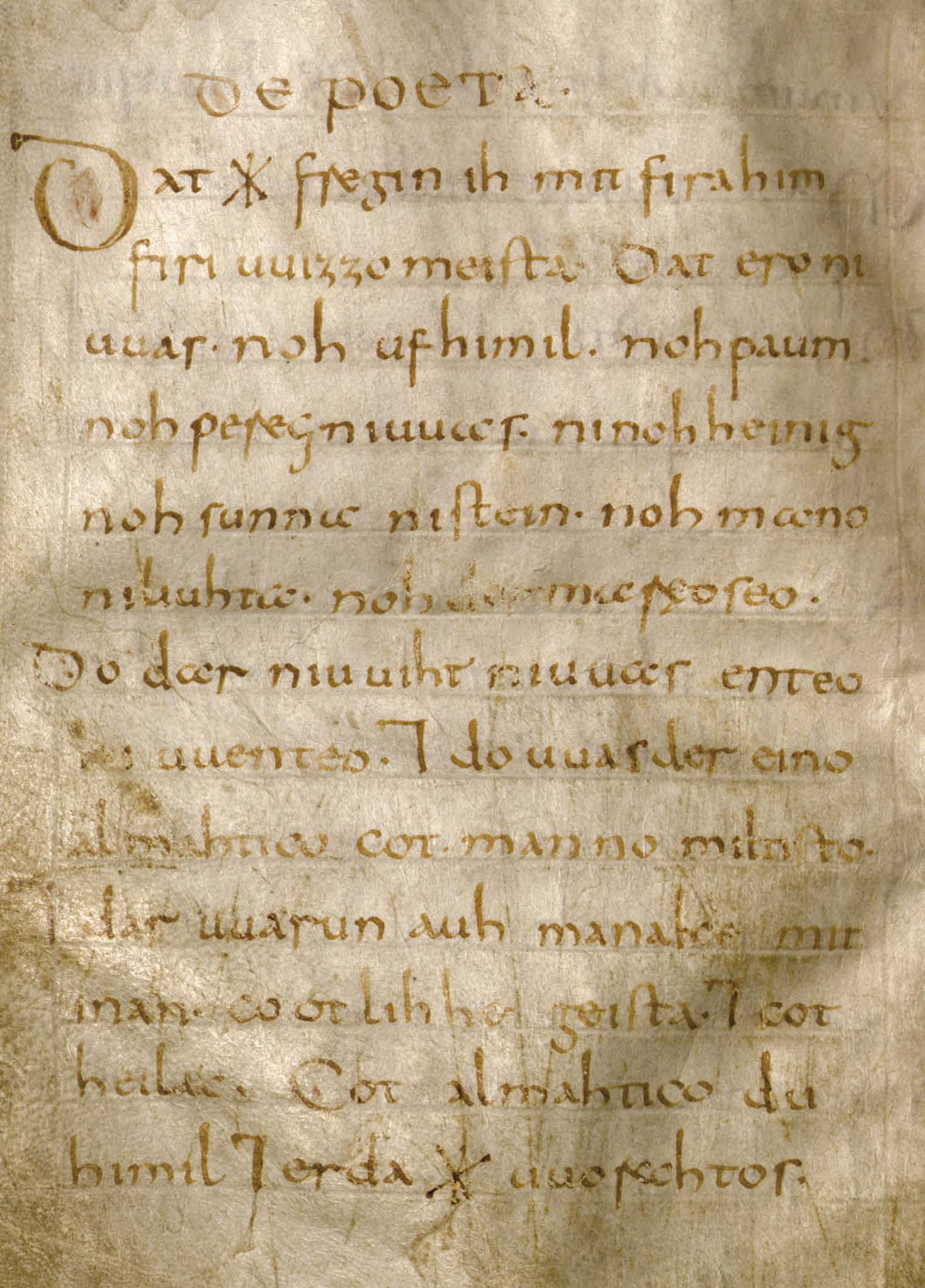 Wessobrunner Gebet - Booklet Seite 8