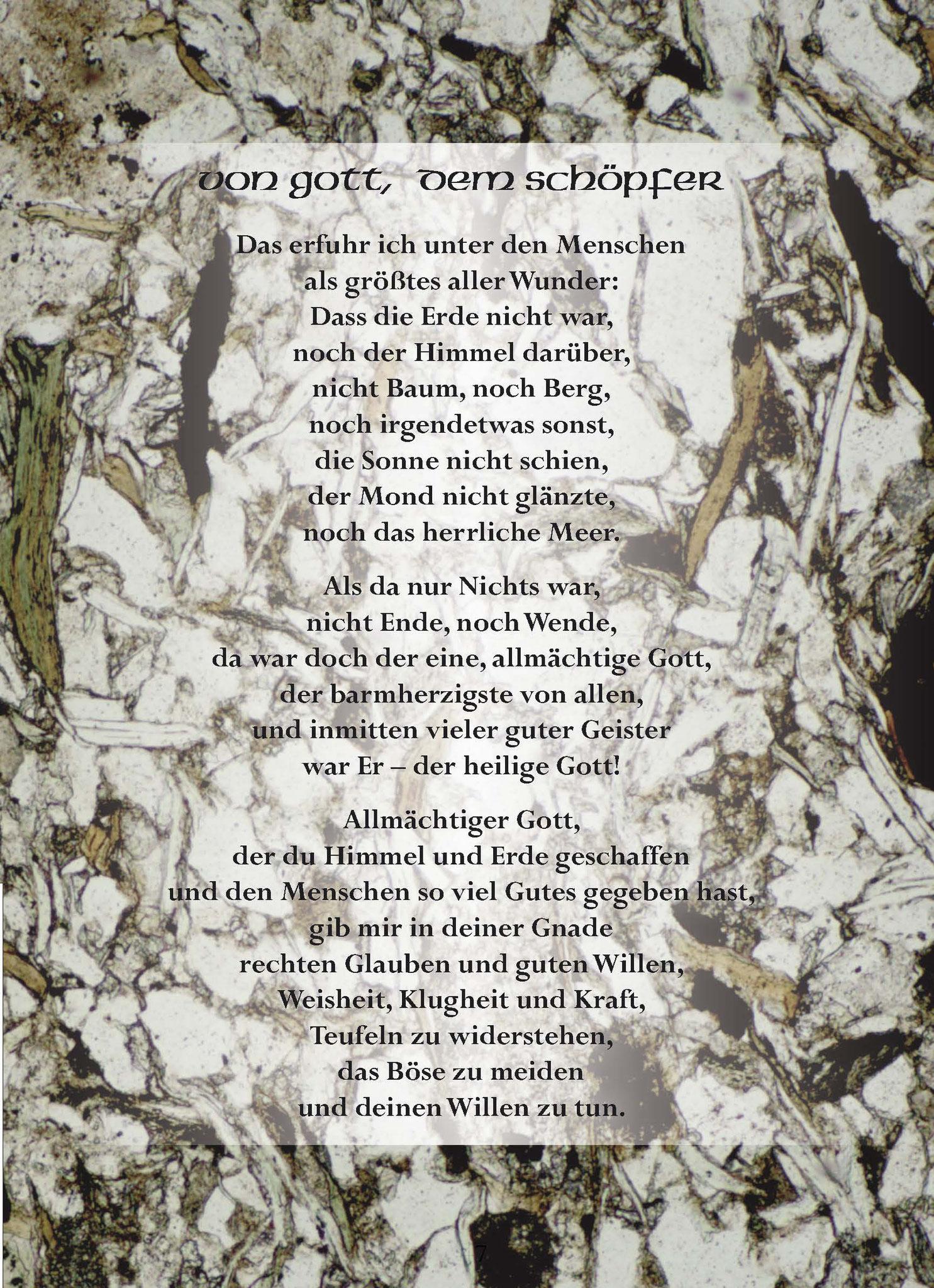 Wessobrunner Gebet - Booklet Seite 47