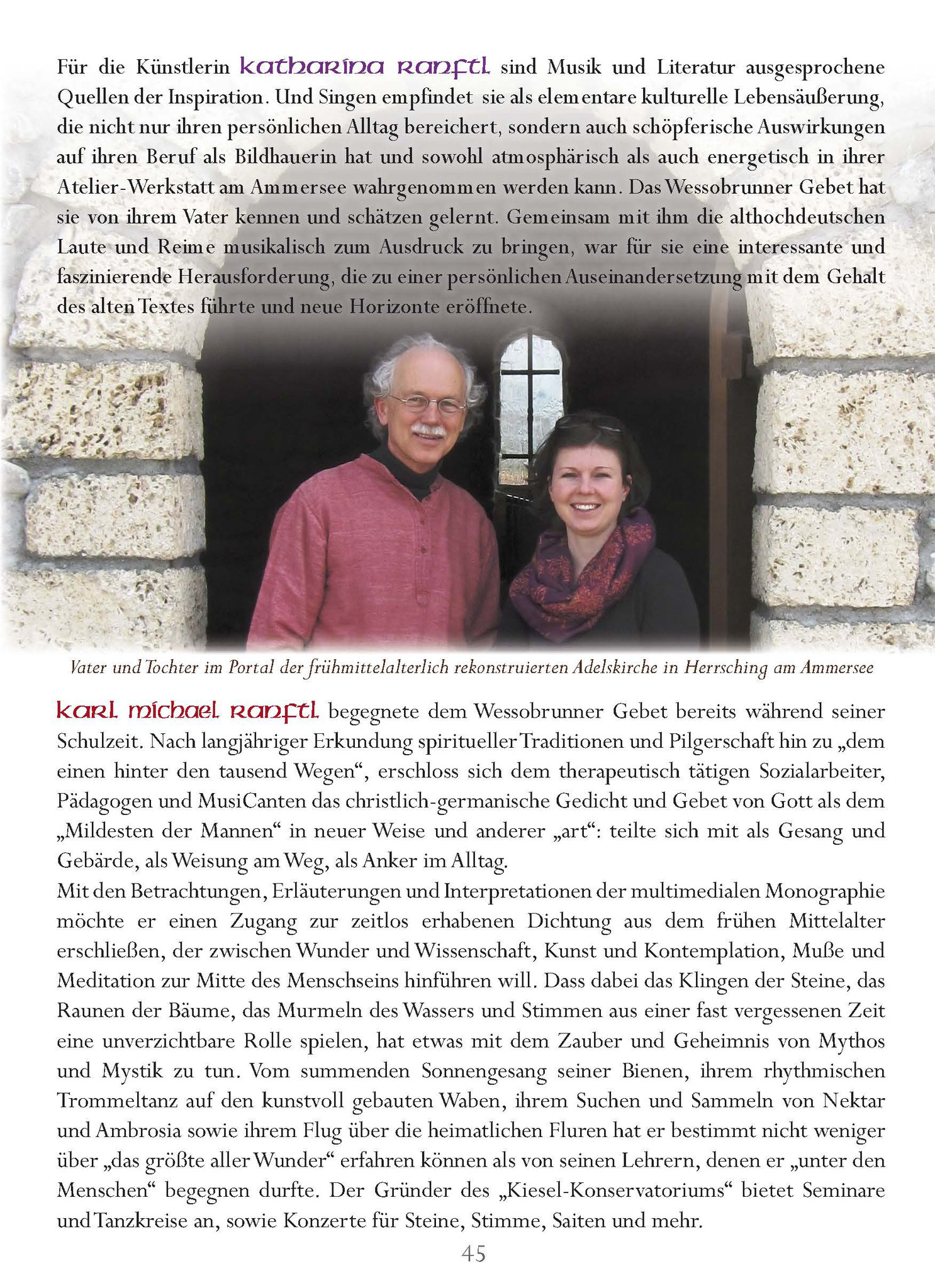 Wessobrunner Gebet - Booklet Seite 45