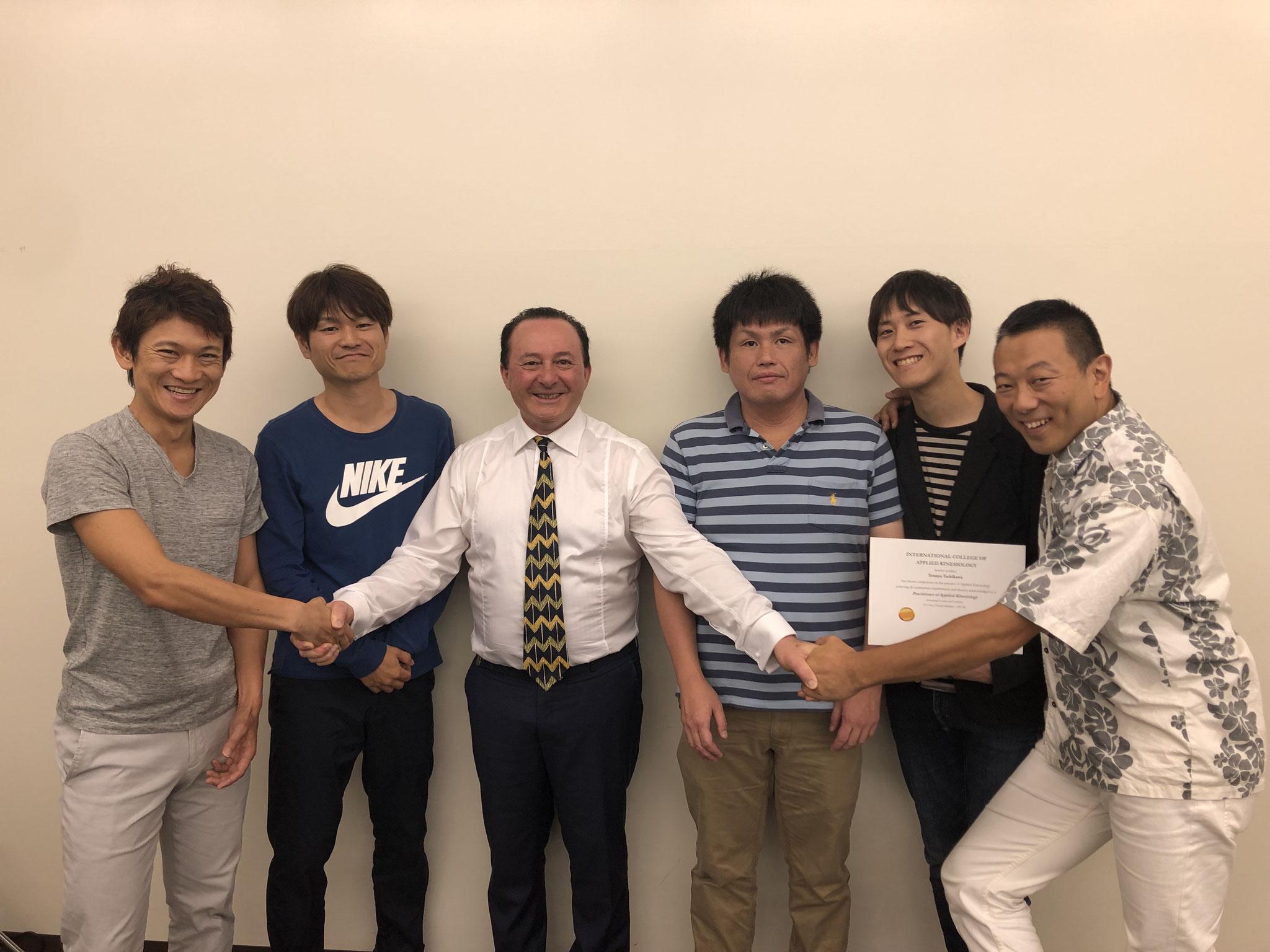 同期のRMIT JAPAN10期生たち