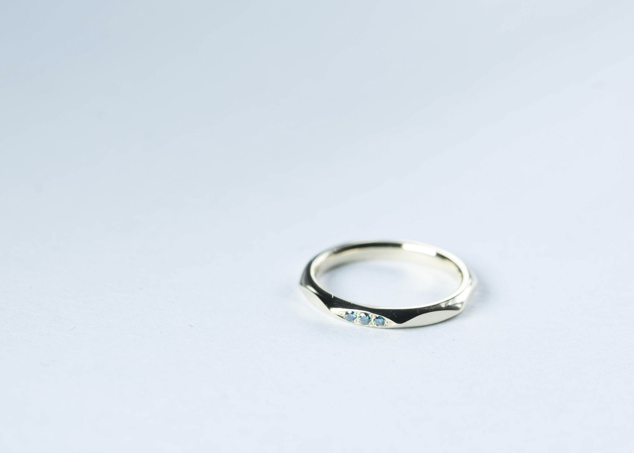 Bonheur Huit ダイヤモンド→ブルートリートメントダイヤモンドへ変更