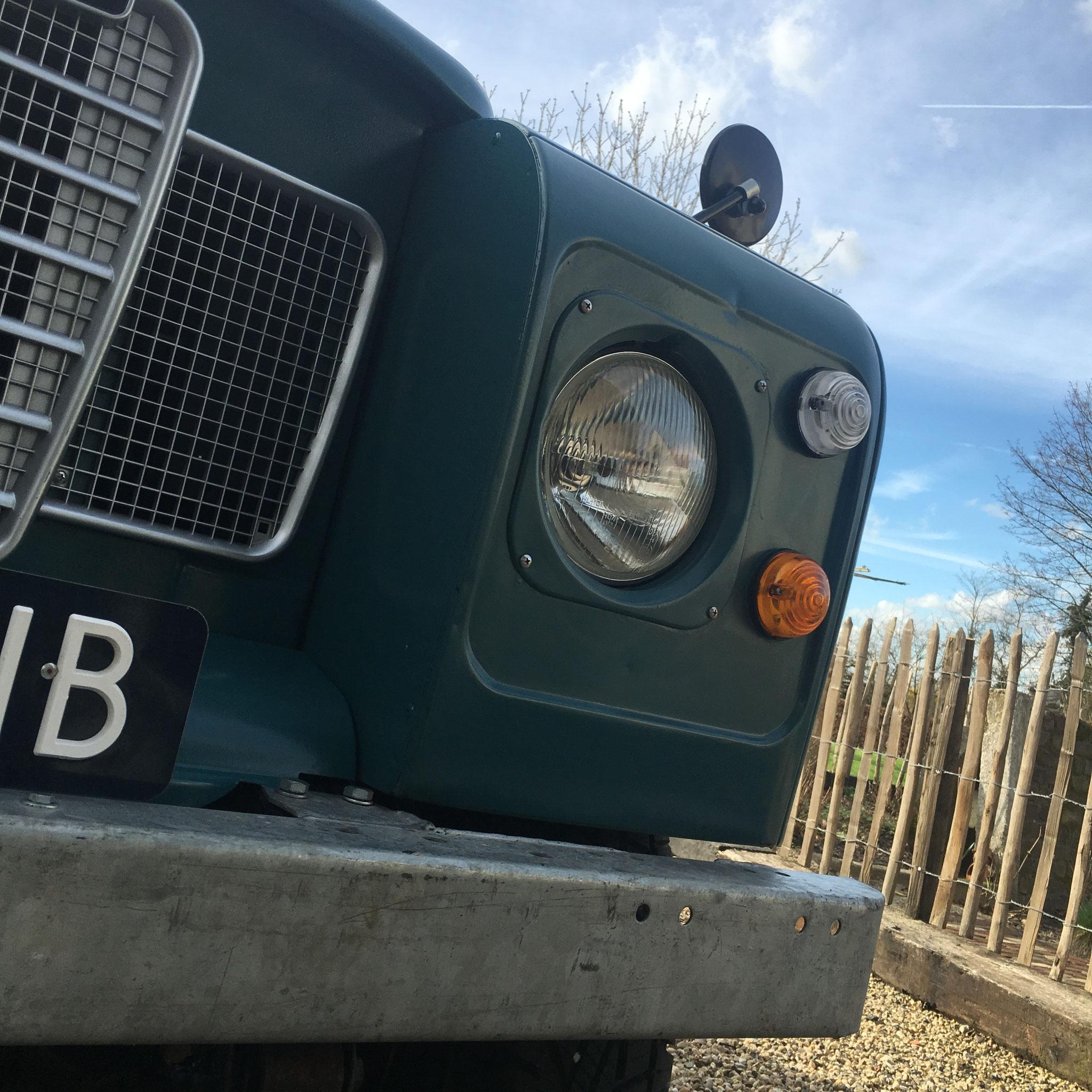 1976 Land Rover Serie III 2.25 Benzine
