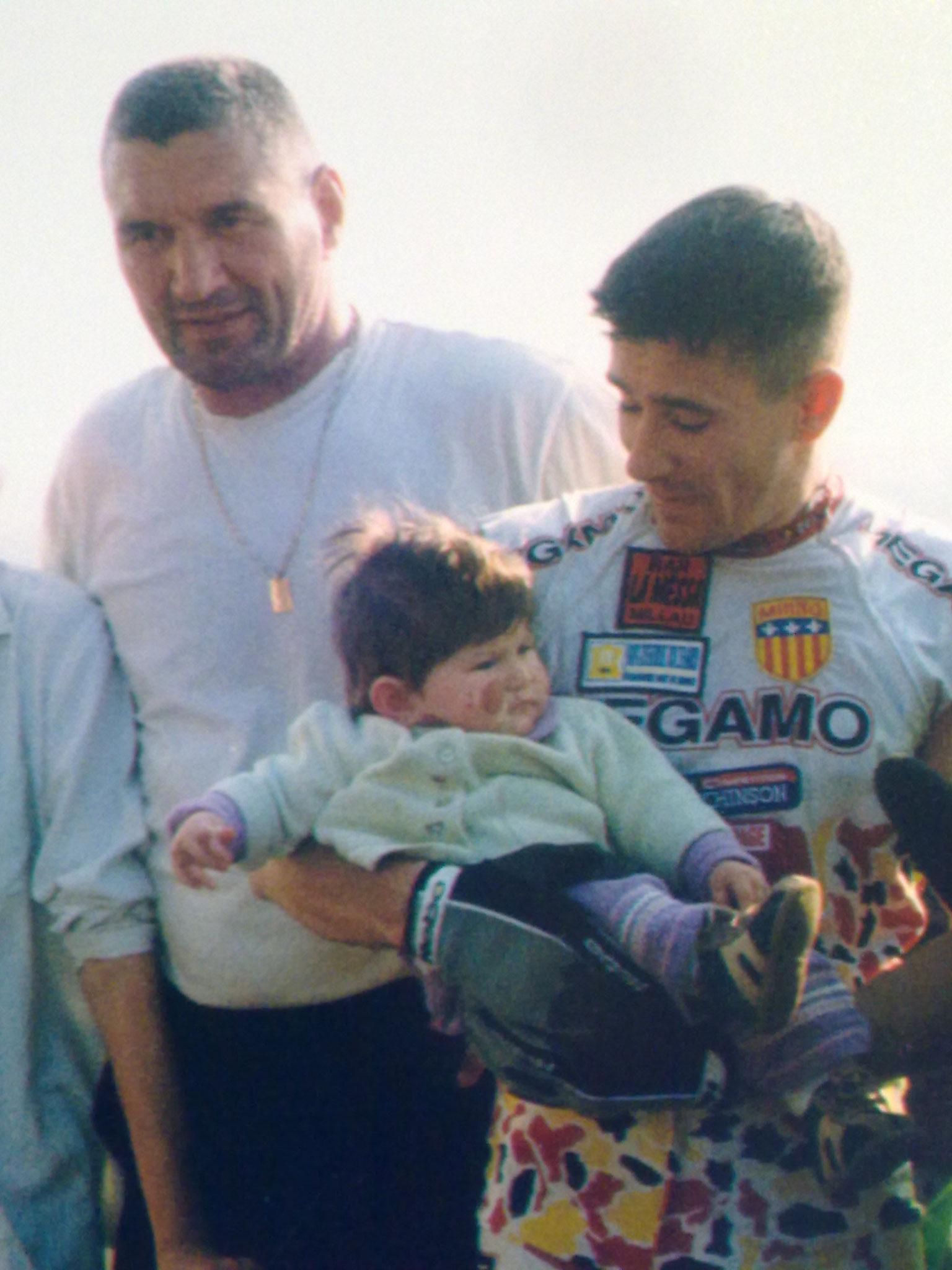 Avec Marco au sommet de la tour Part-Dieux à Lyon après mon ascension pour soutenir des enfants malades
