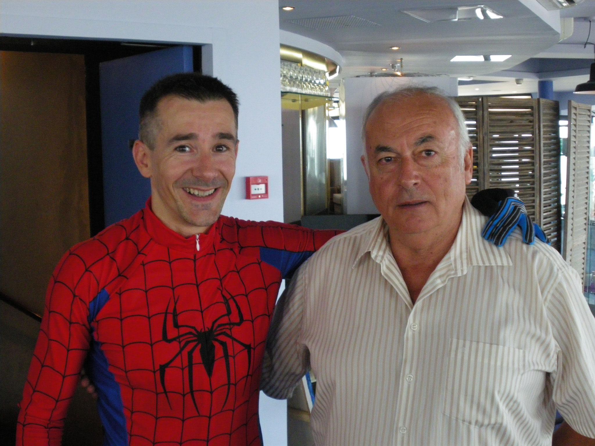 Avec Richard MAILLET président du CROS