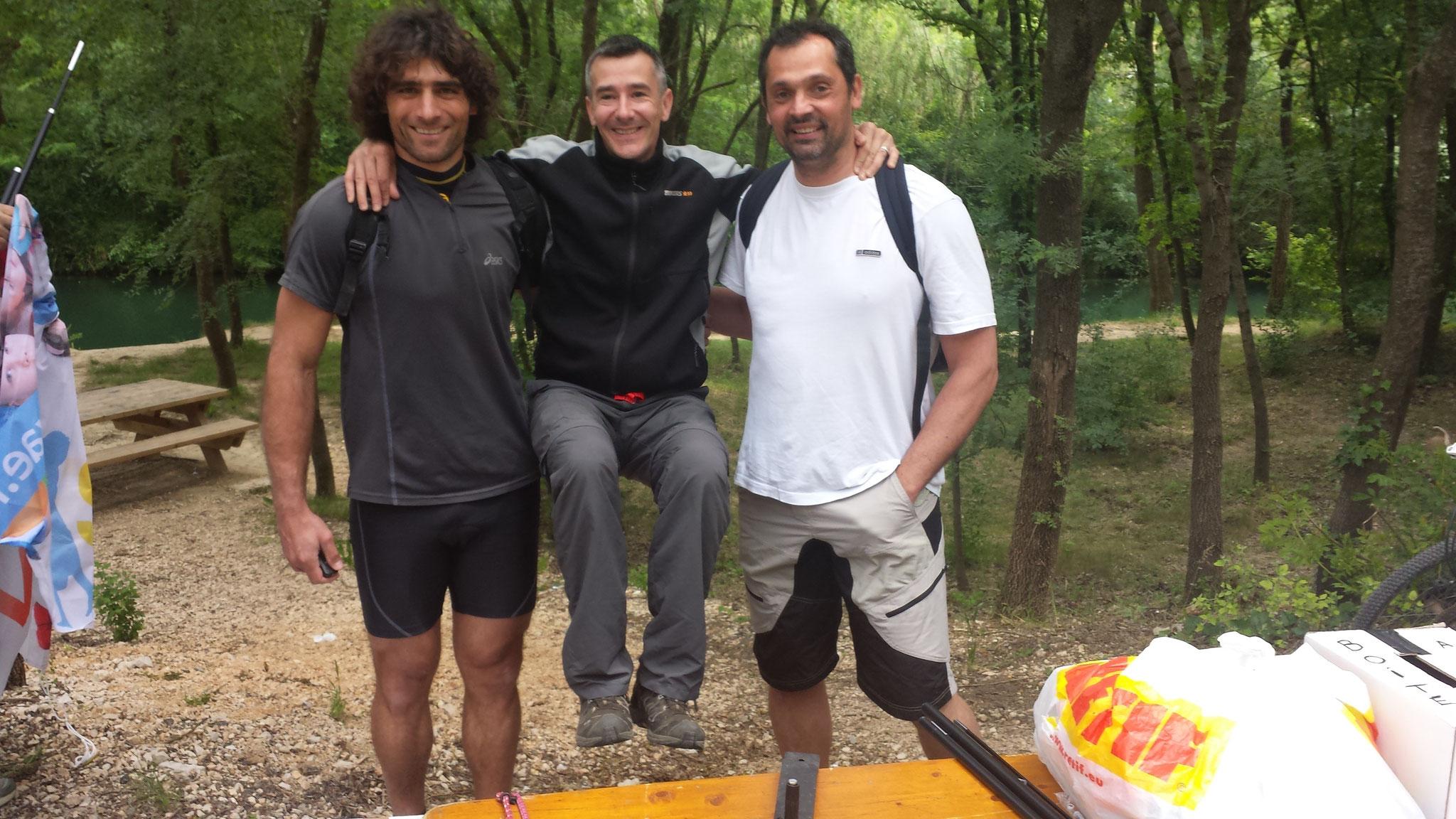 Olive SARAMEA et Cédric BURDET (handball)