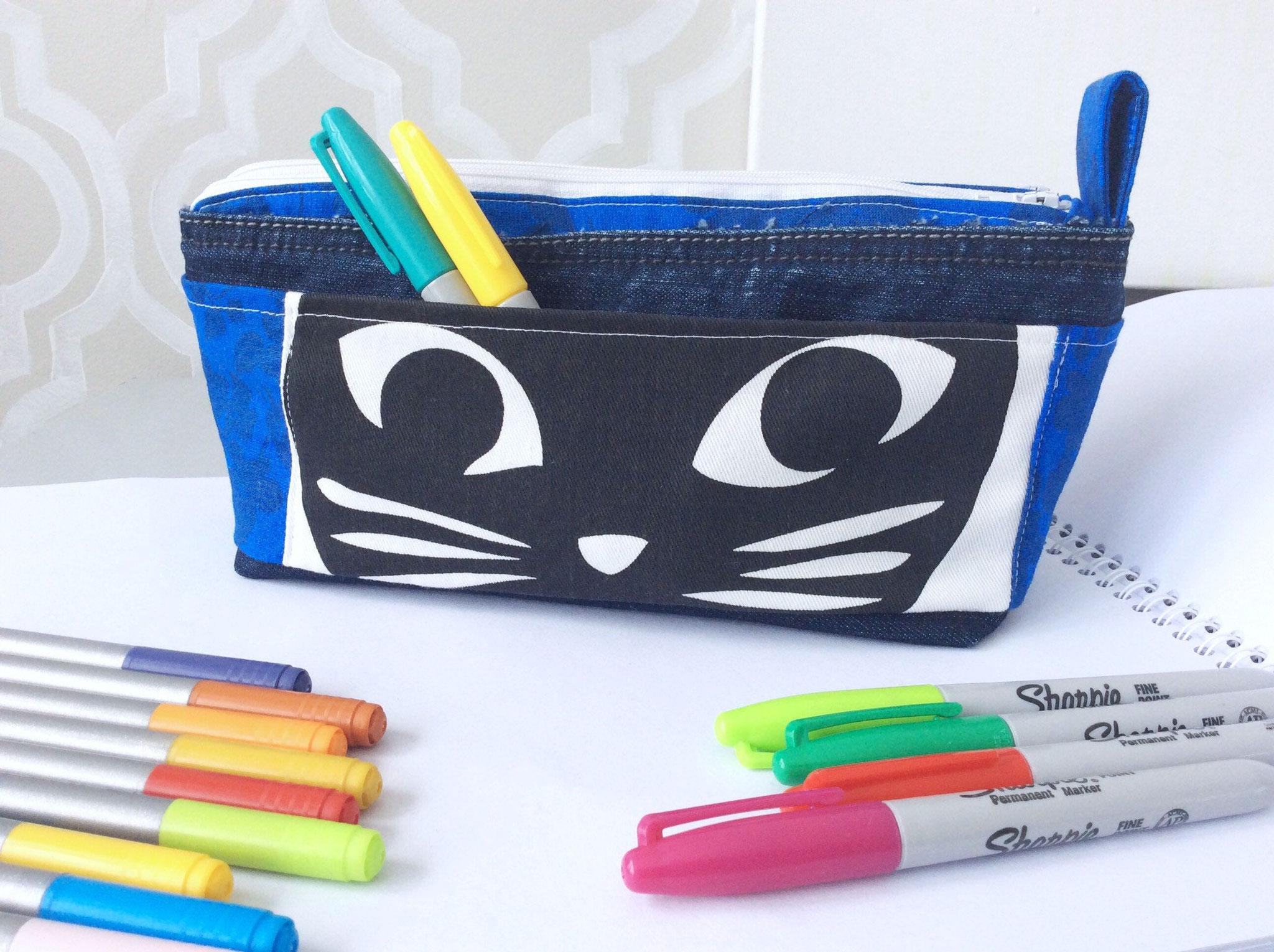 Étui à crayons double compartiment de Bricole MC