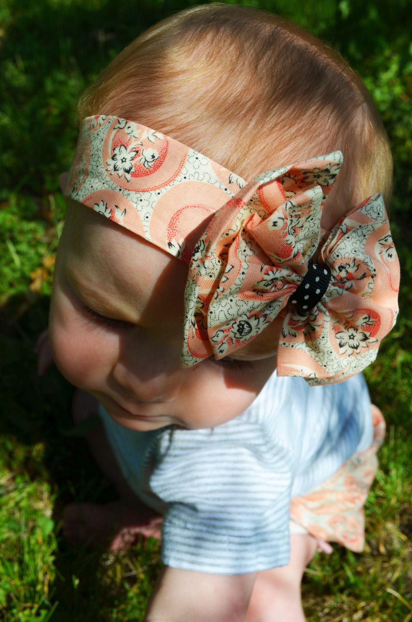 Headband with large bow