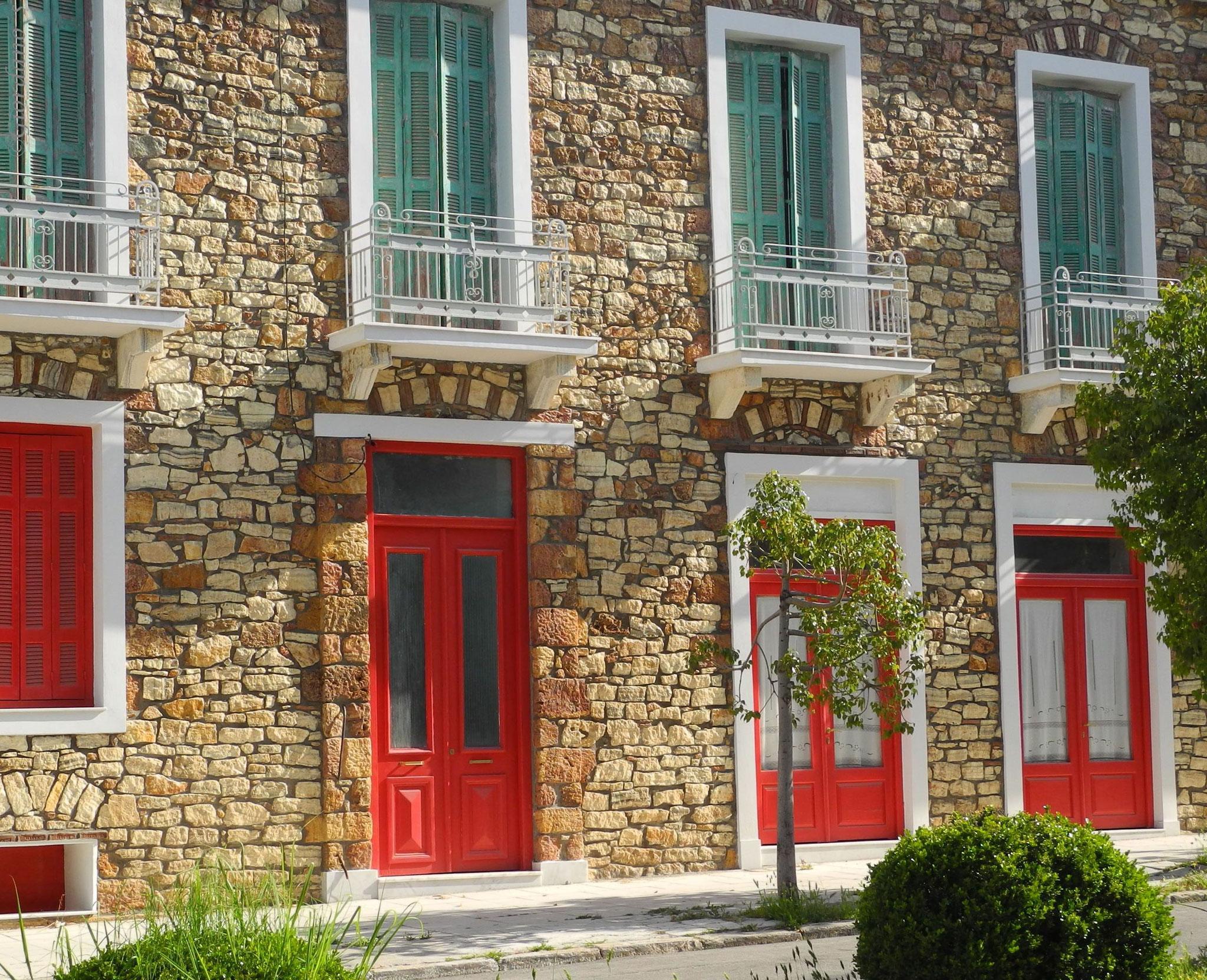 Altes renoviertes Haus in Loutra