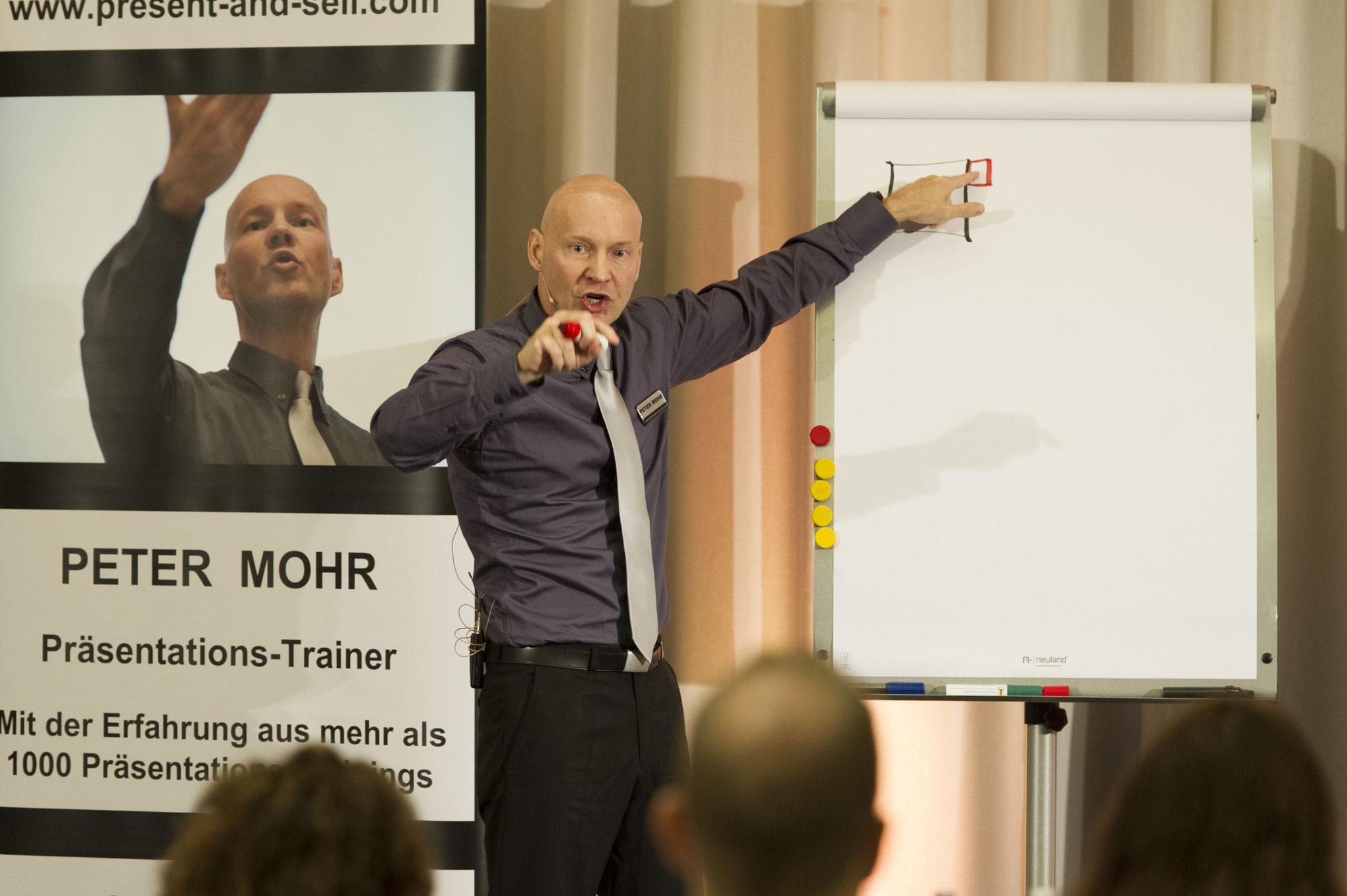 Verkaufstraining mit PETER MOHR