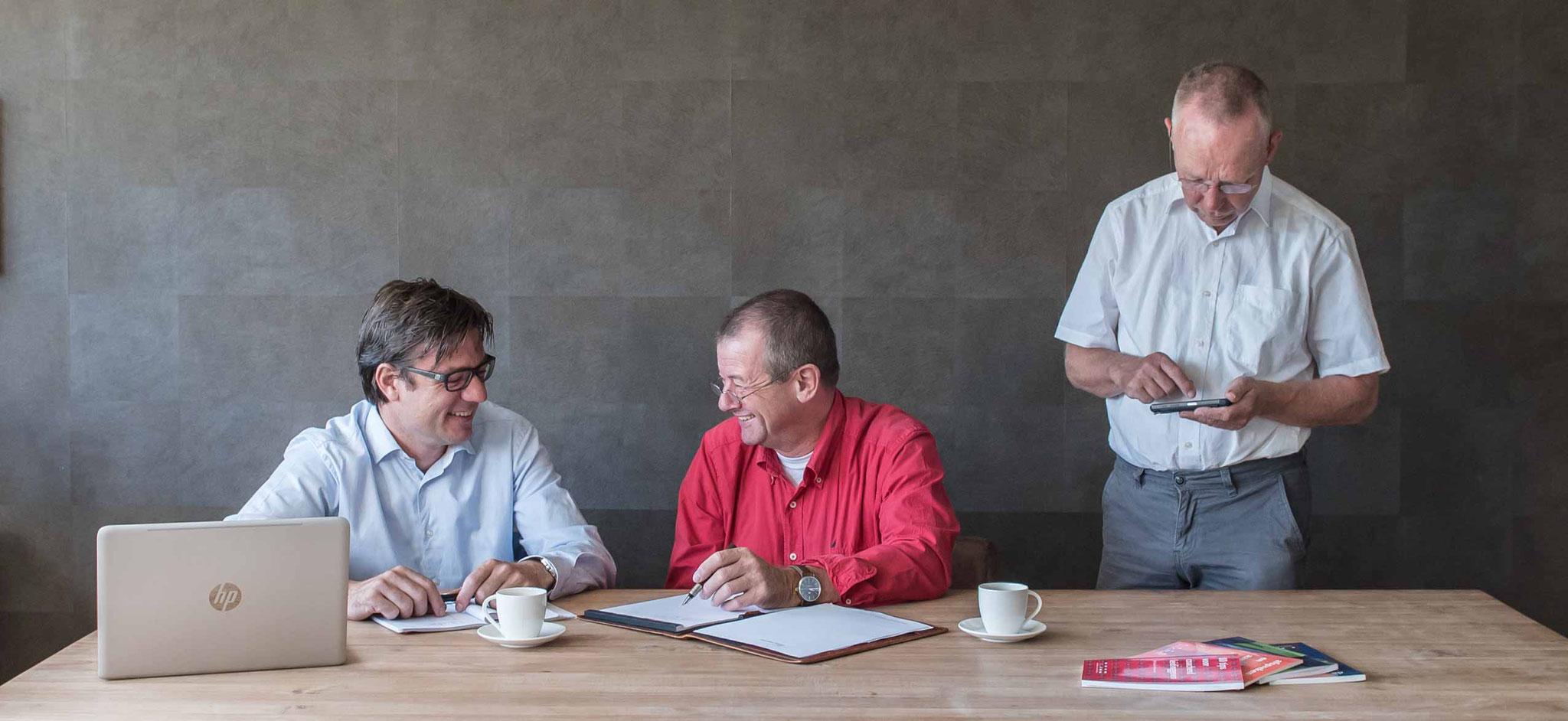 Alwin Nieuwenstein, Monty Trap en Dirk Boersma - CvEL