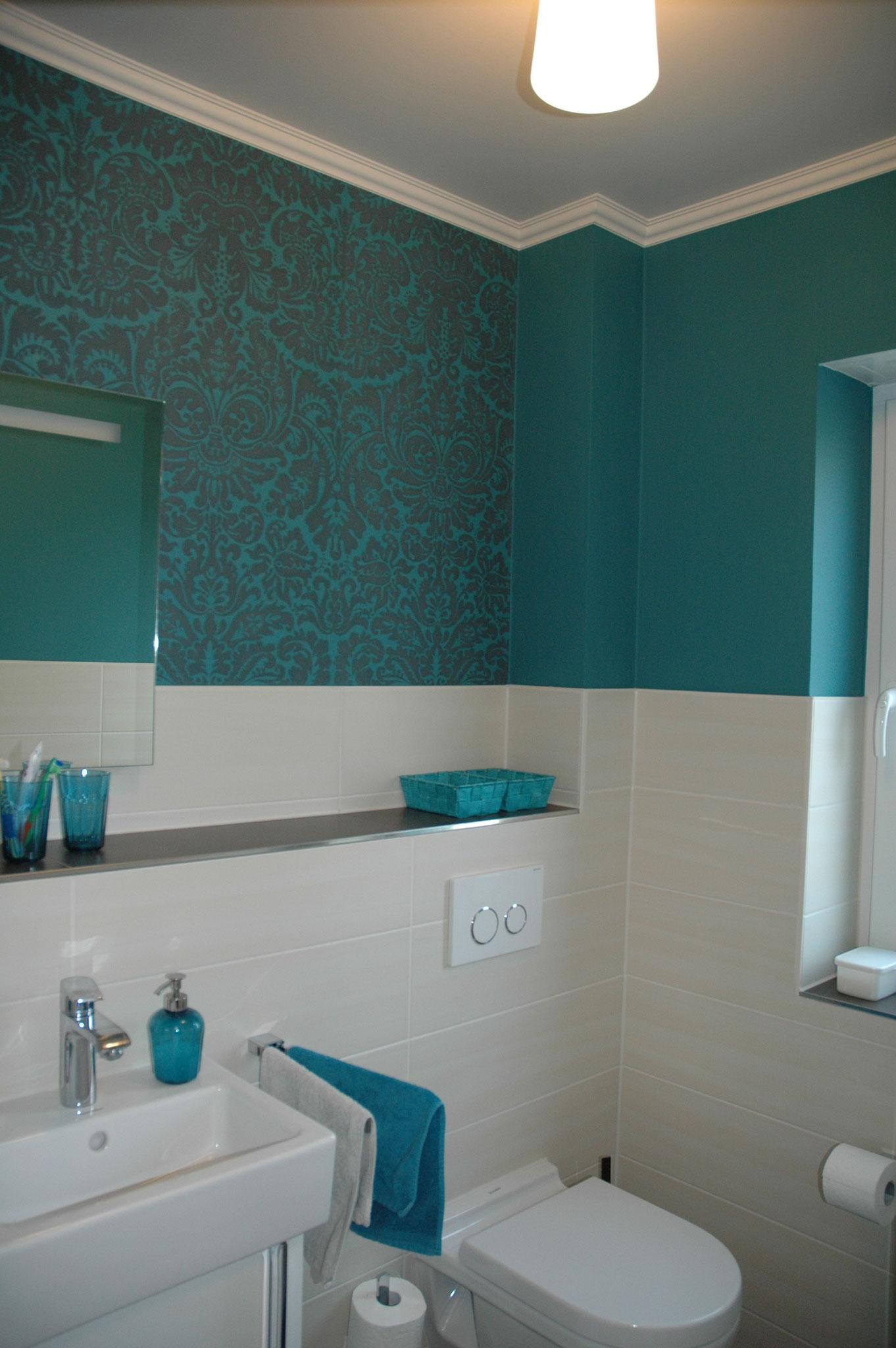 Farbgestaltung Gäste WC