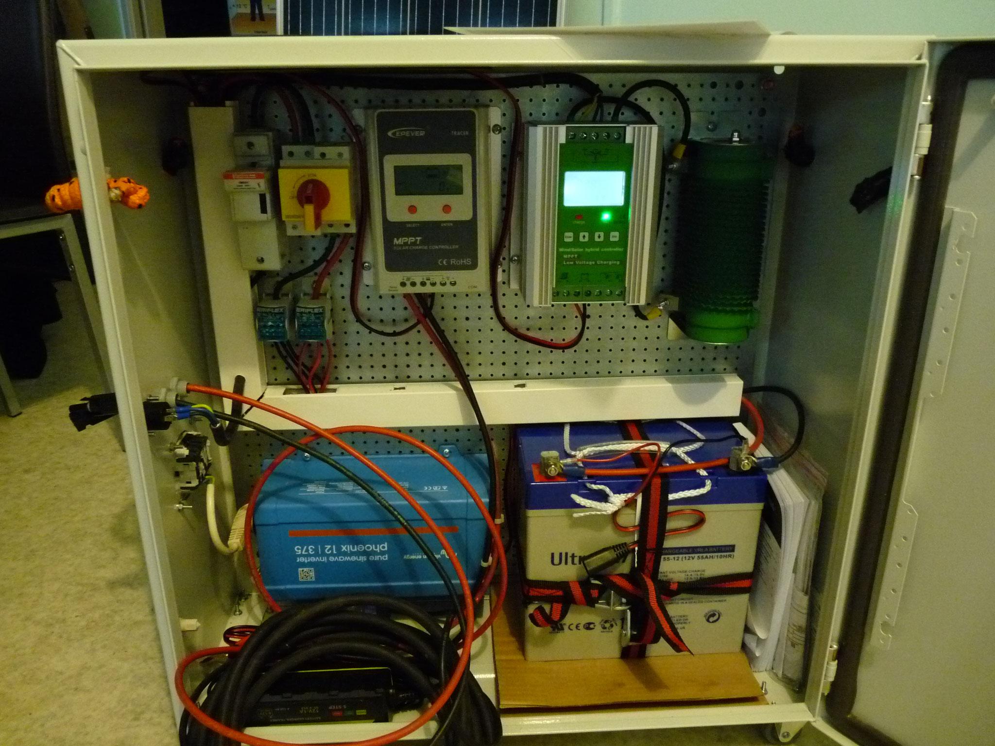 Le coffret peut délivrer 350 Watts de puissance !