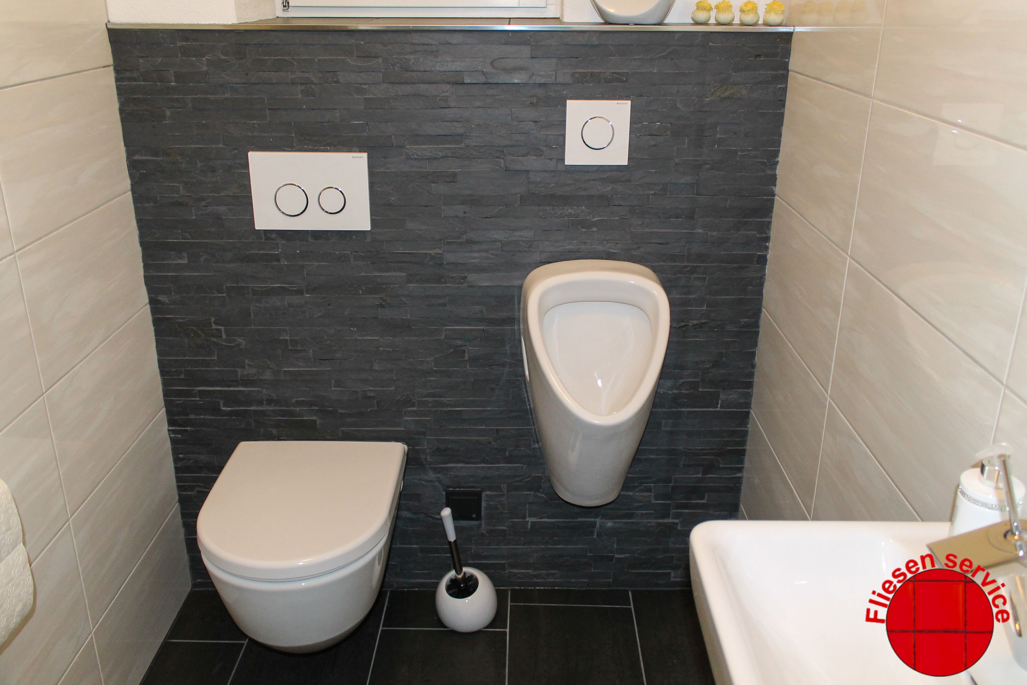 WC Wand mal anders