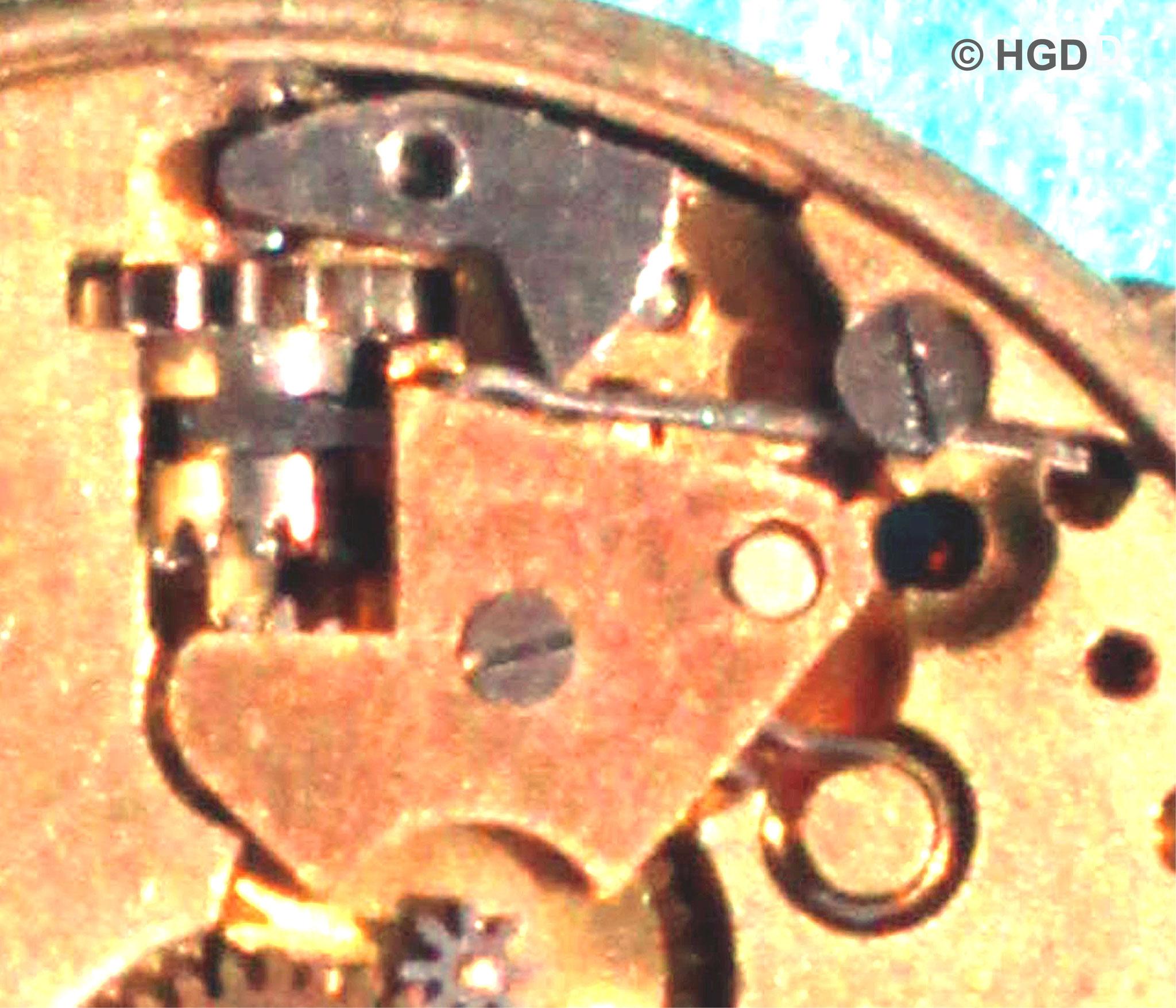 UROFA - Zeigerstellmechanismus