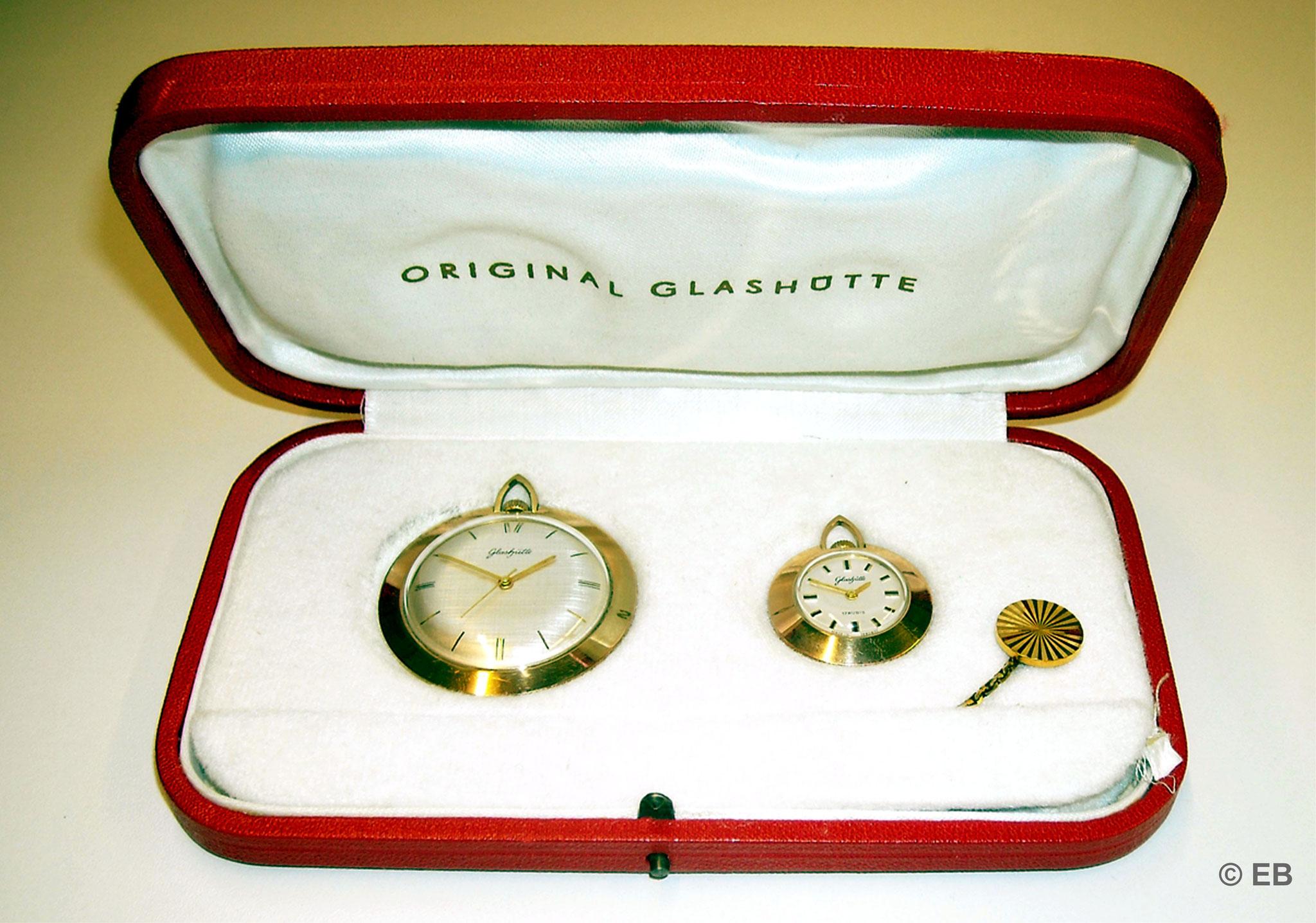 Hier die zweite Variante der Kleintaschenuhr mit dem Kal.78 ohne Datumanzeige