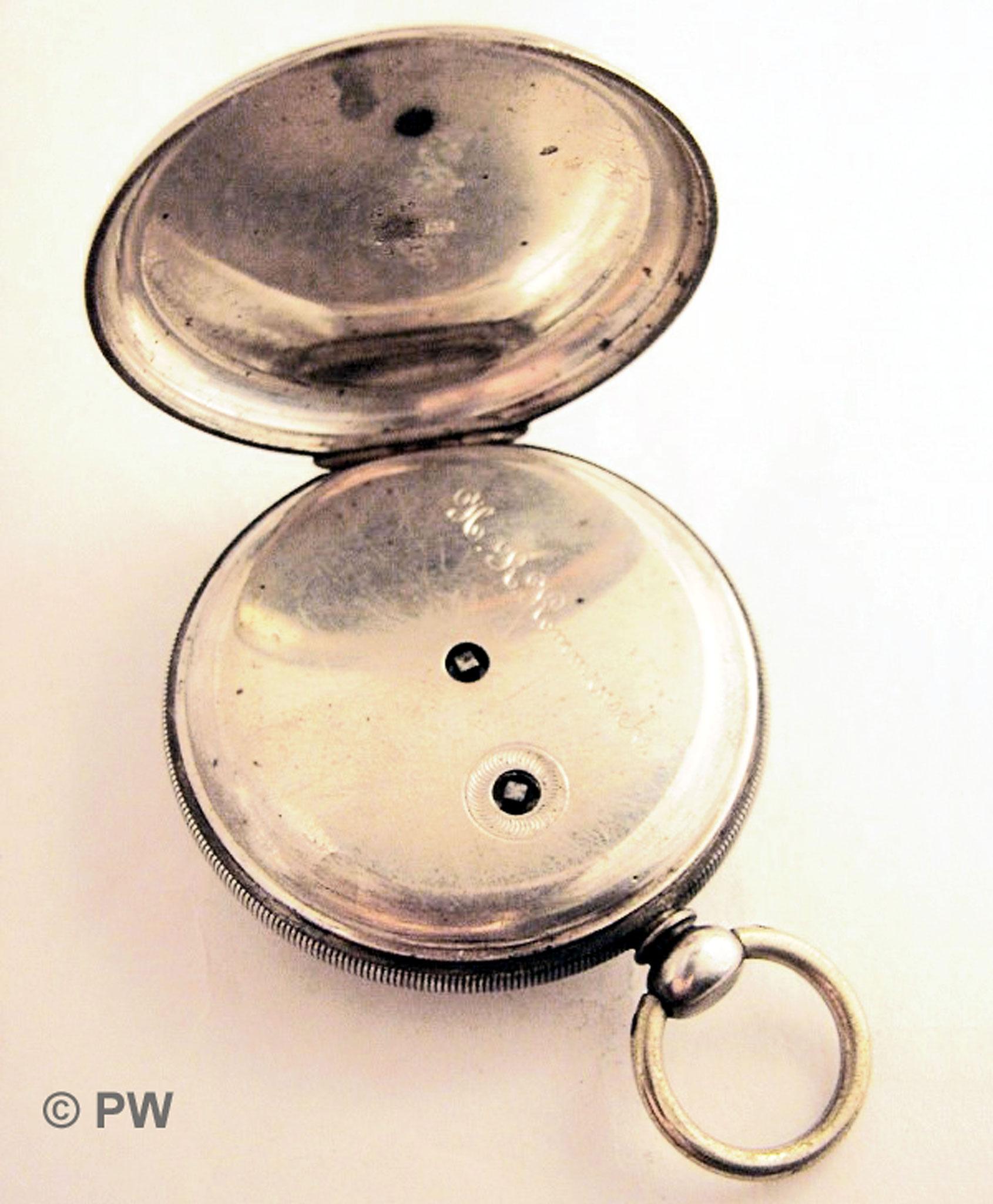 Silbergehäuse der TU A. Lange 2207