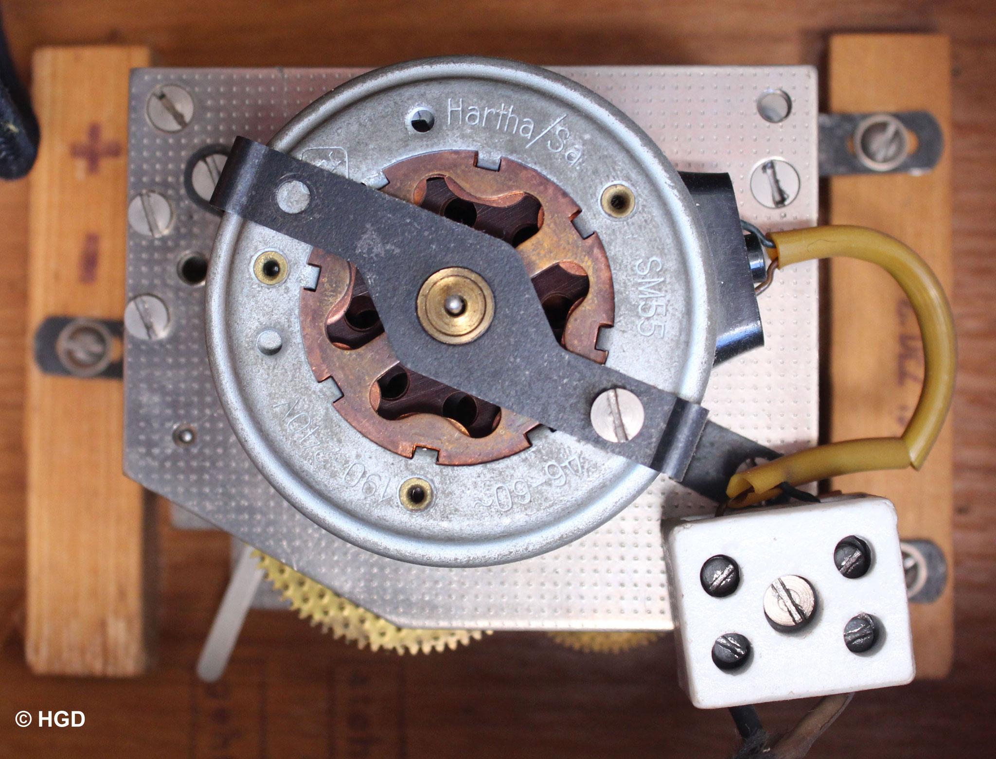 Der 220 V Synchronmotor