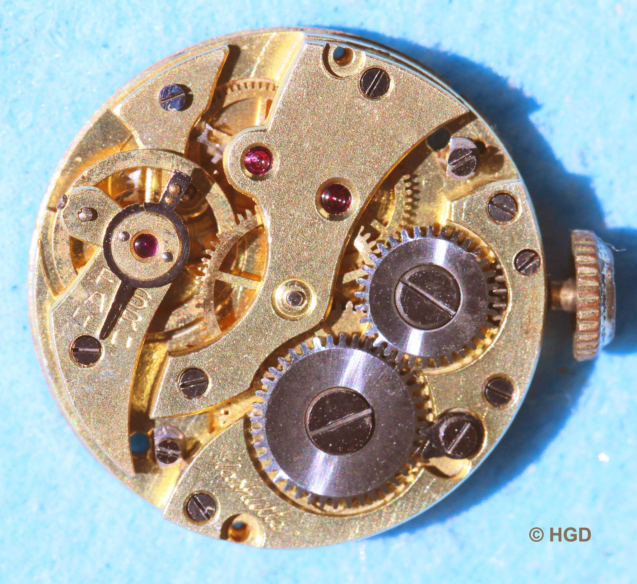 10 Steiniges Zylinderwerk Kal.51