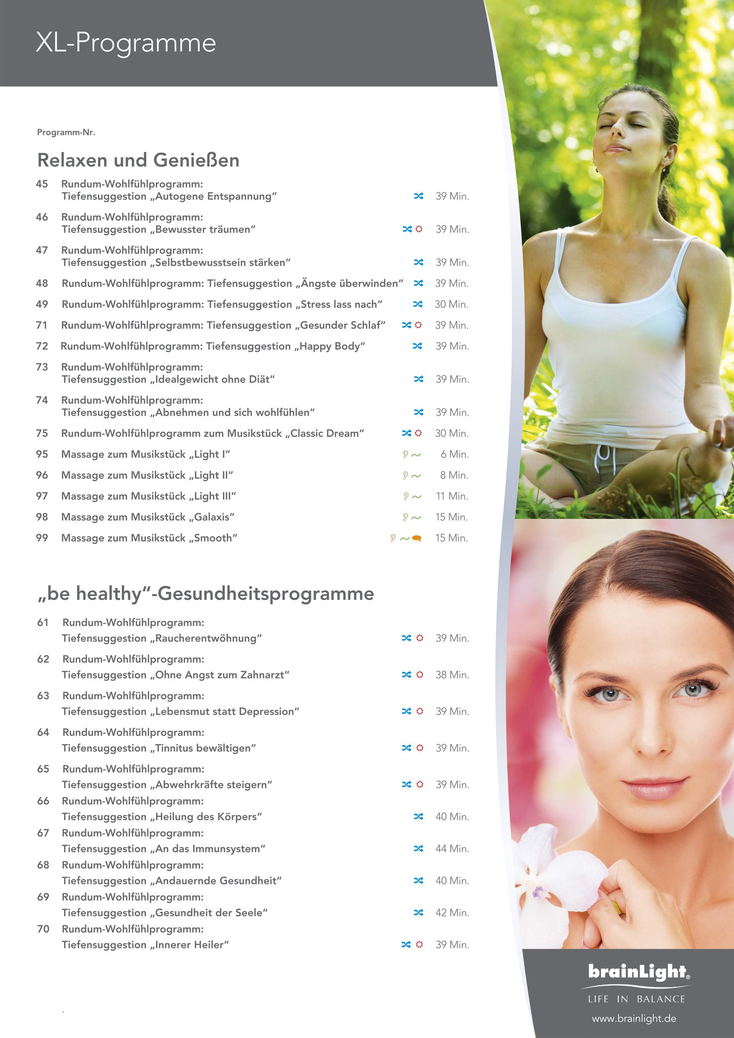 Das Salzhaus Salzhausen Brainlight- & Shiatsu-Massagesessel