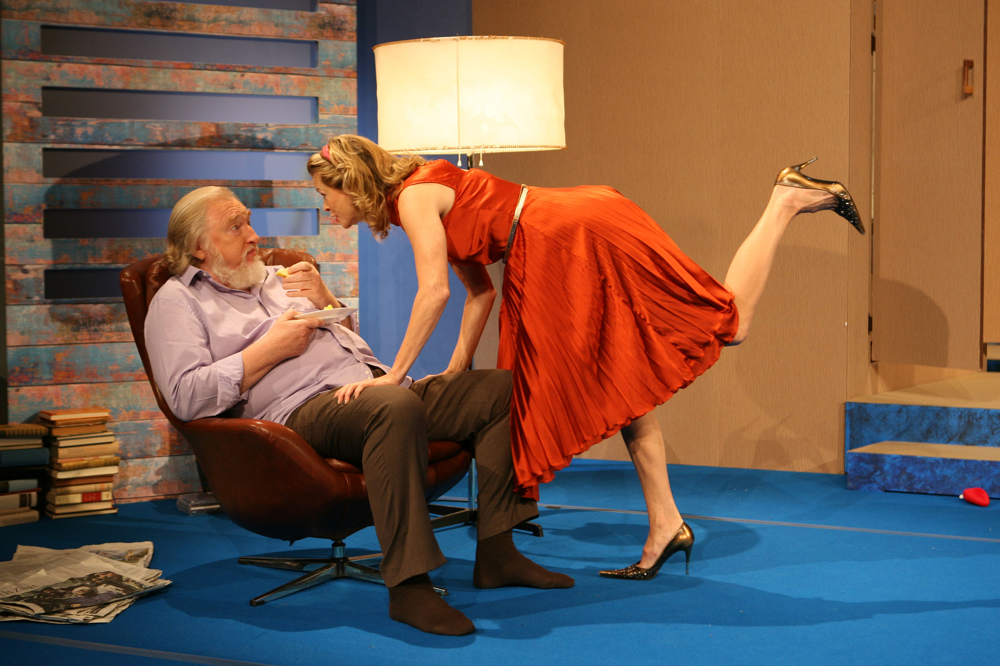 Wer hat Angst vor Virgina Woolf Szenenfoto / Foto-Achim Zeppenfeld (© Theatergastspiele Kempf)