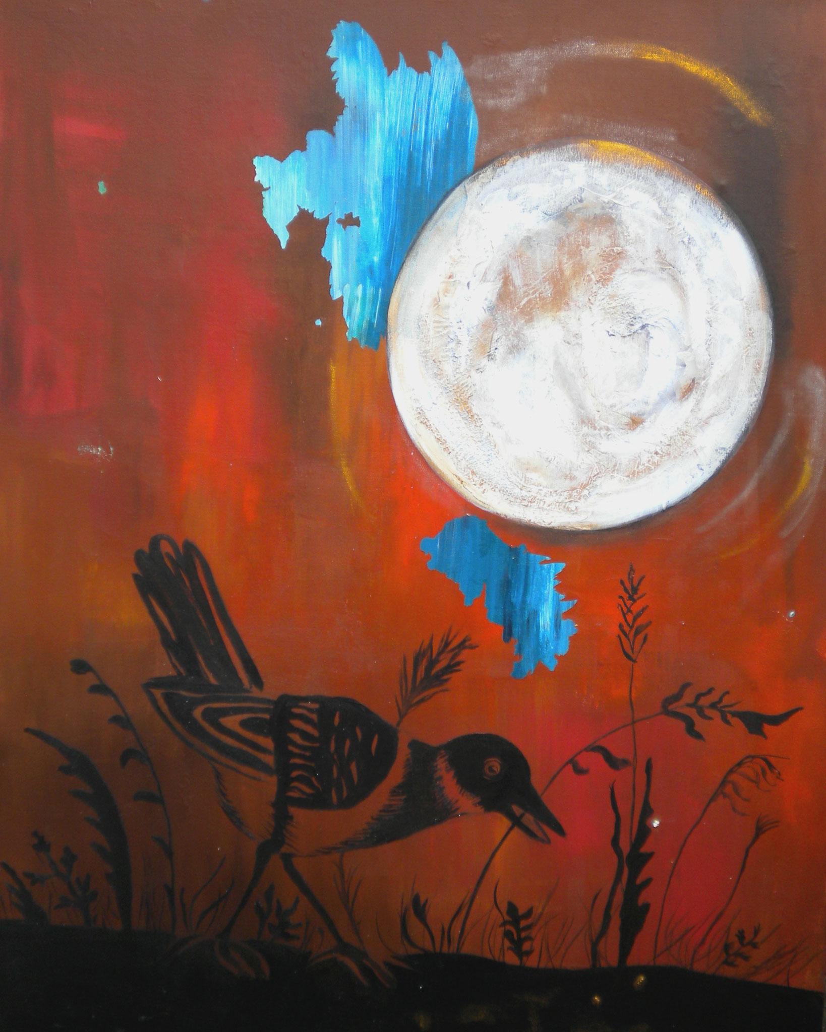 """Moonwalk"", Acryl auf Leinwand"