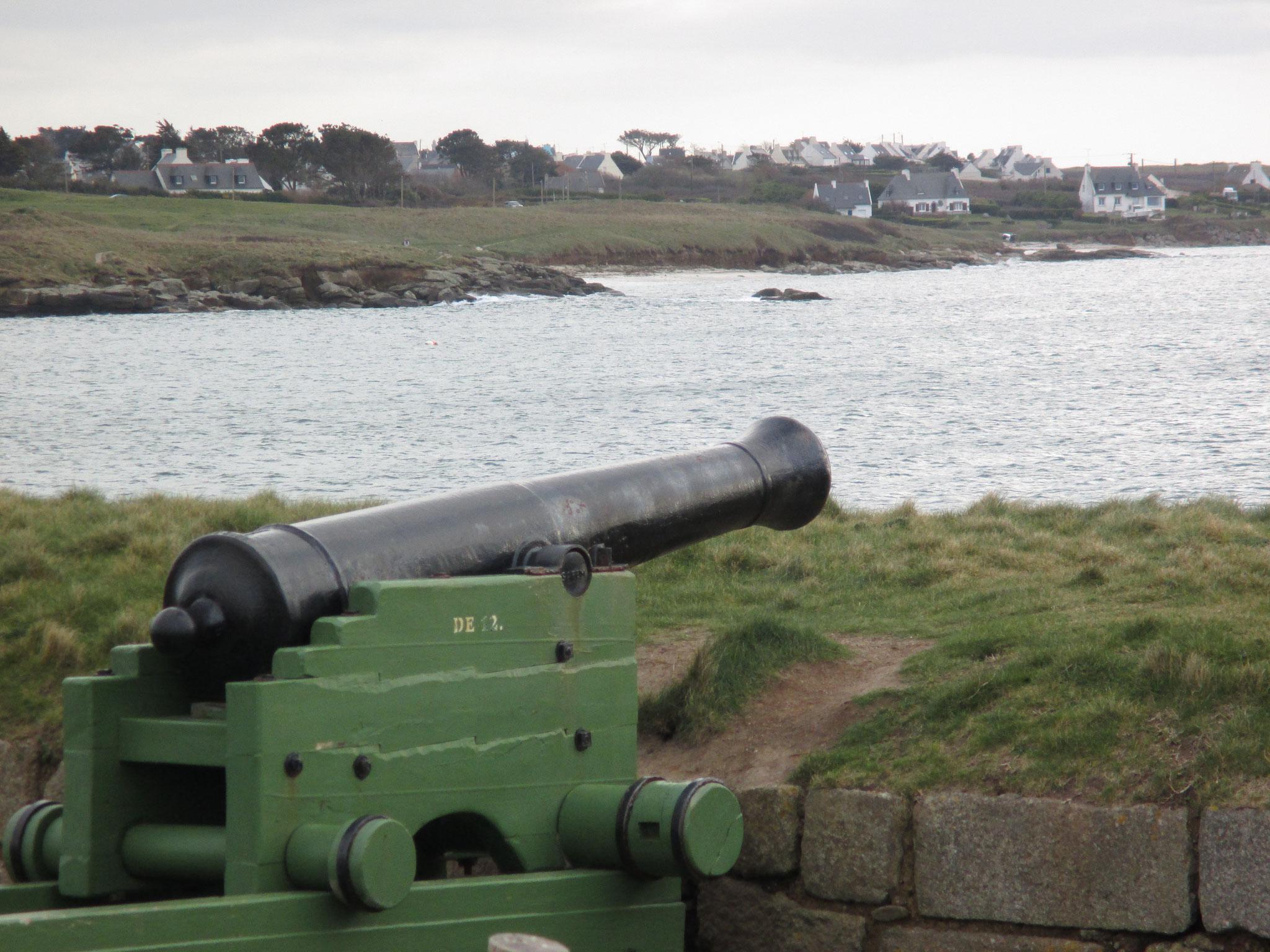 protégés par l'artillerie