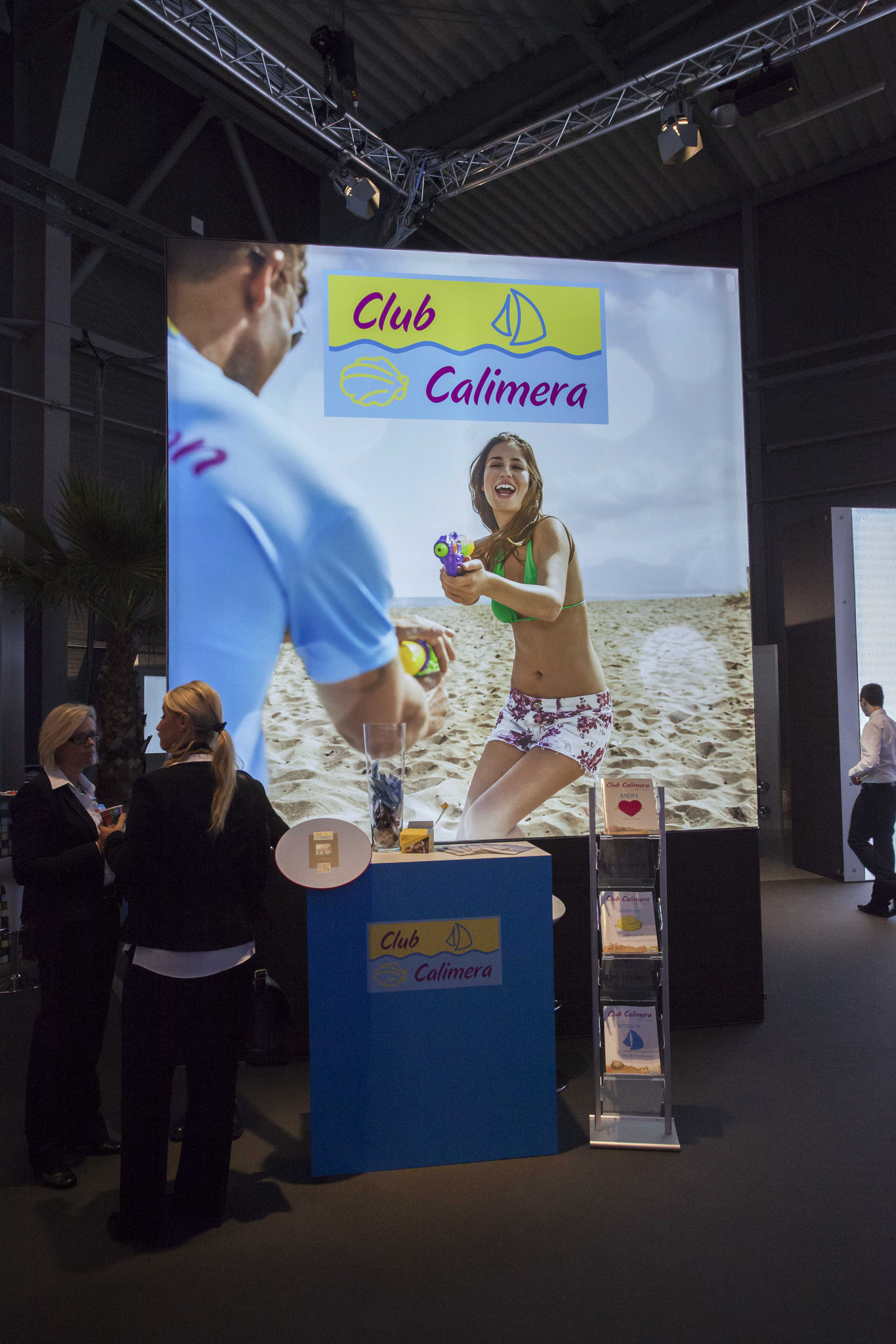 Club Calimera Messestand