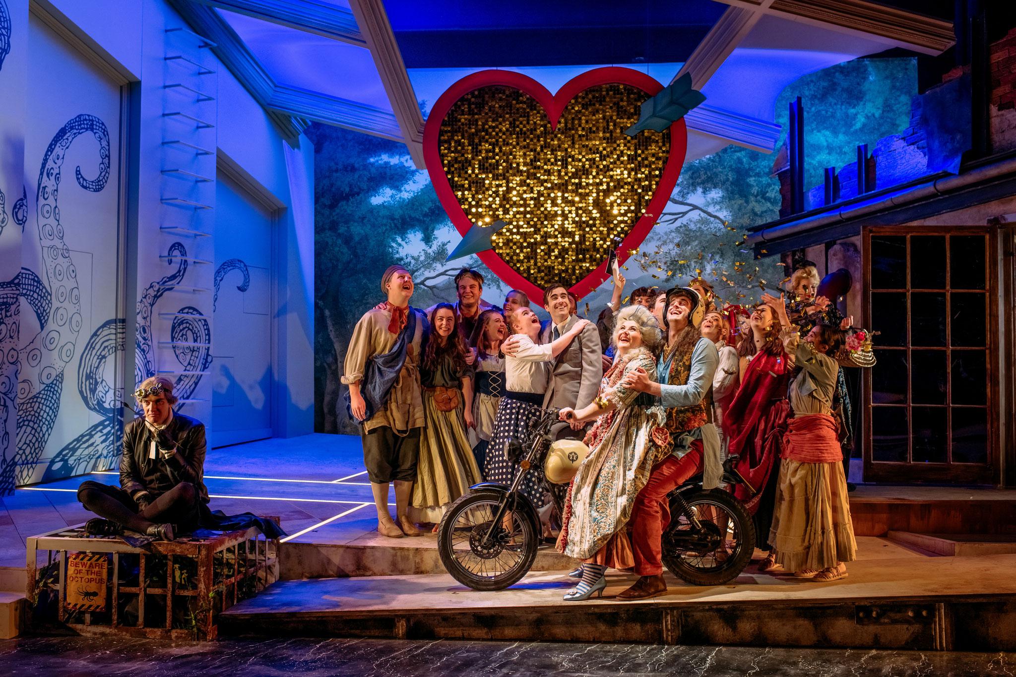 La fedeltà premiata: Guildhall Opera November 2019 - Photo courtesy of Mihaela Bodlovic