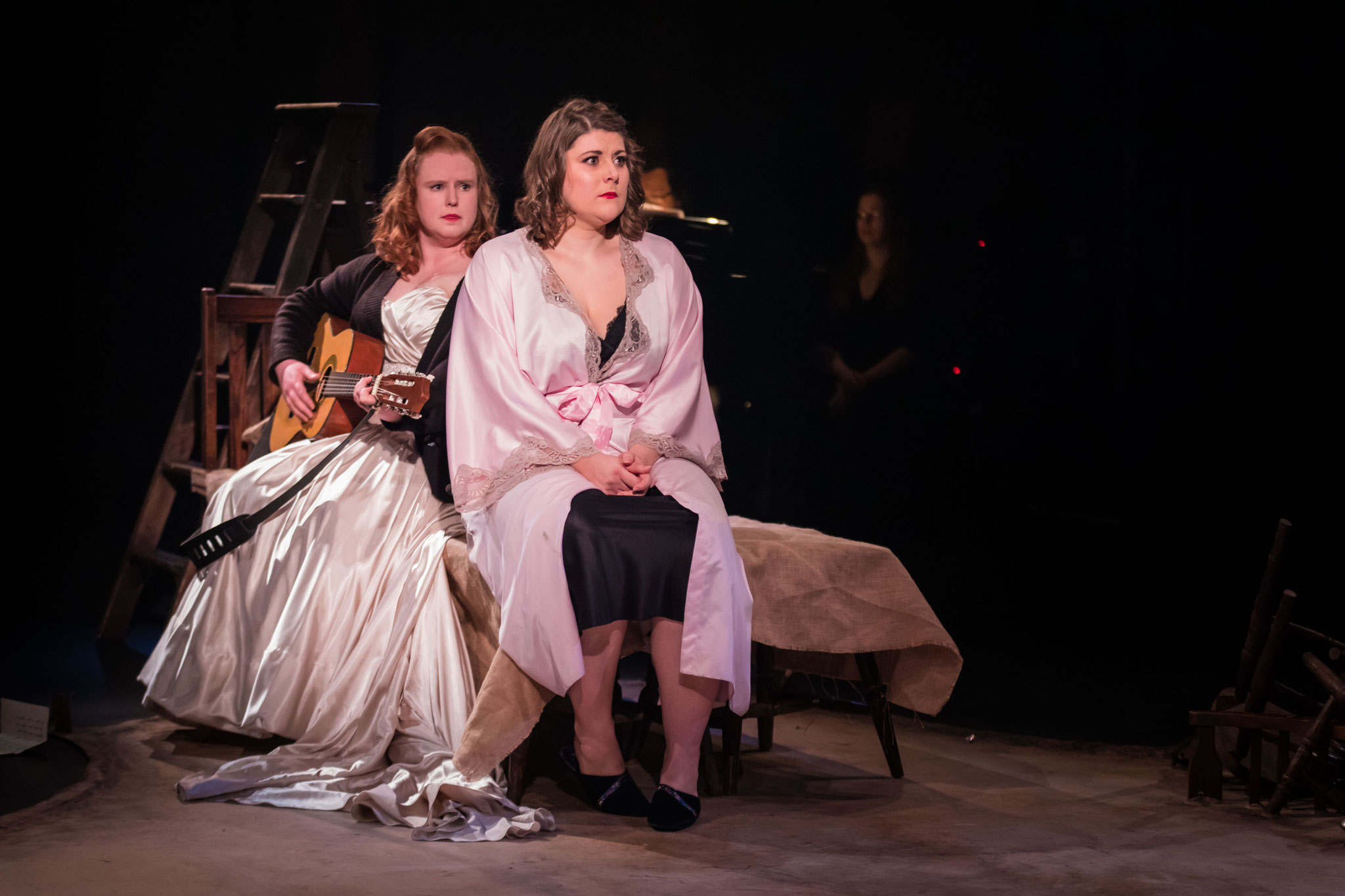 Countess Rosina & Susanna (Harriet Burns), Le nozze di Figaro: Guildhall School Opera Scenes November 2018 - Photo courtesy of FGStudios