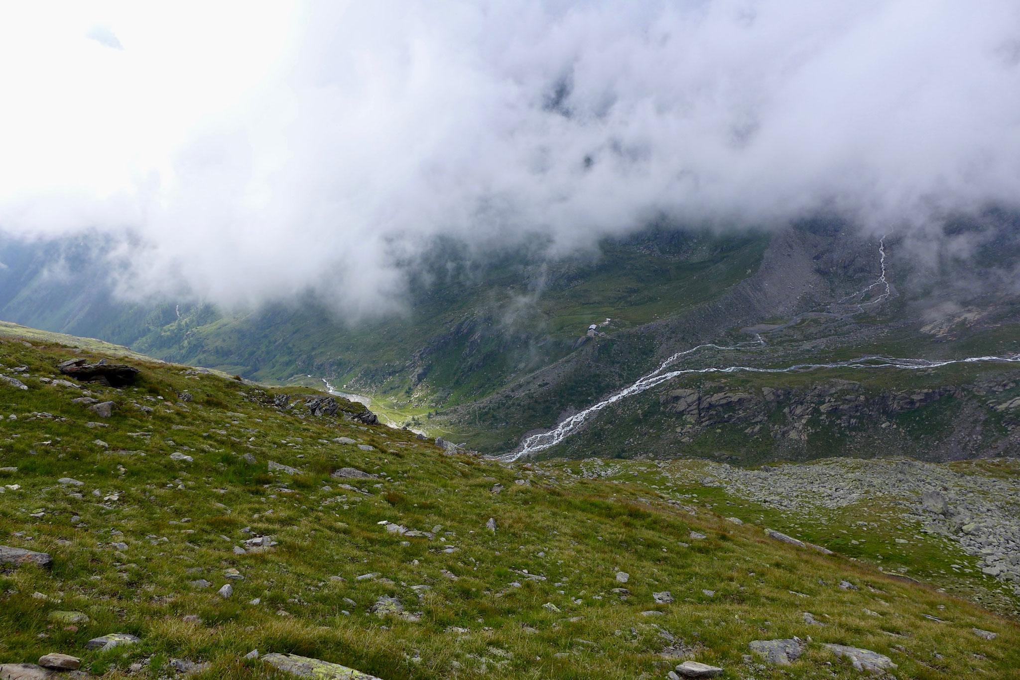 Schon bald war die Hütte in Sicht aber es war noch ein weiter Weg!
