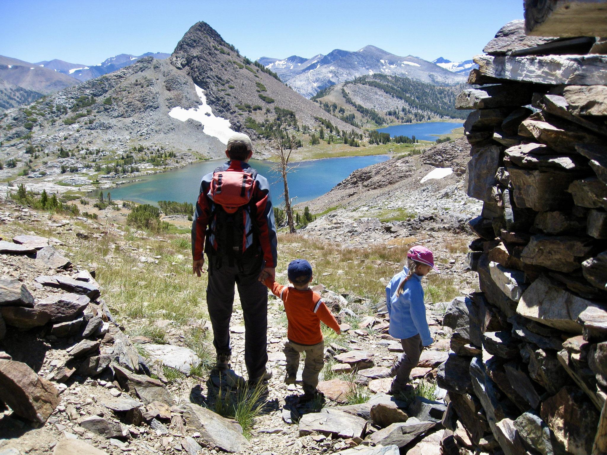 Gaylor Lakes Yosemite National Park