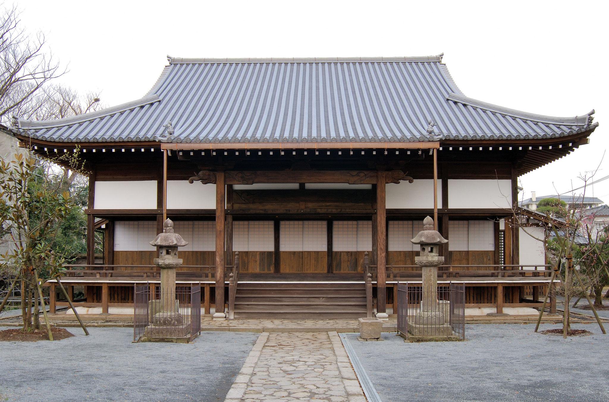 国指定重要文化財「長福寺本堂」