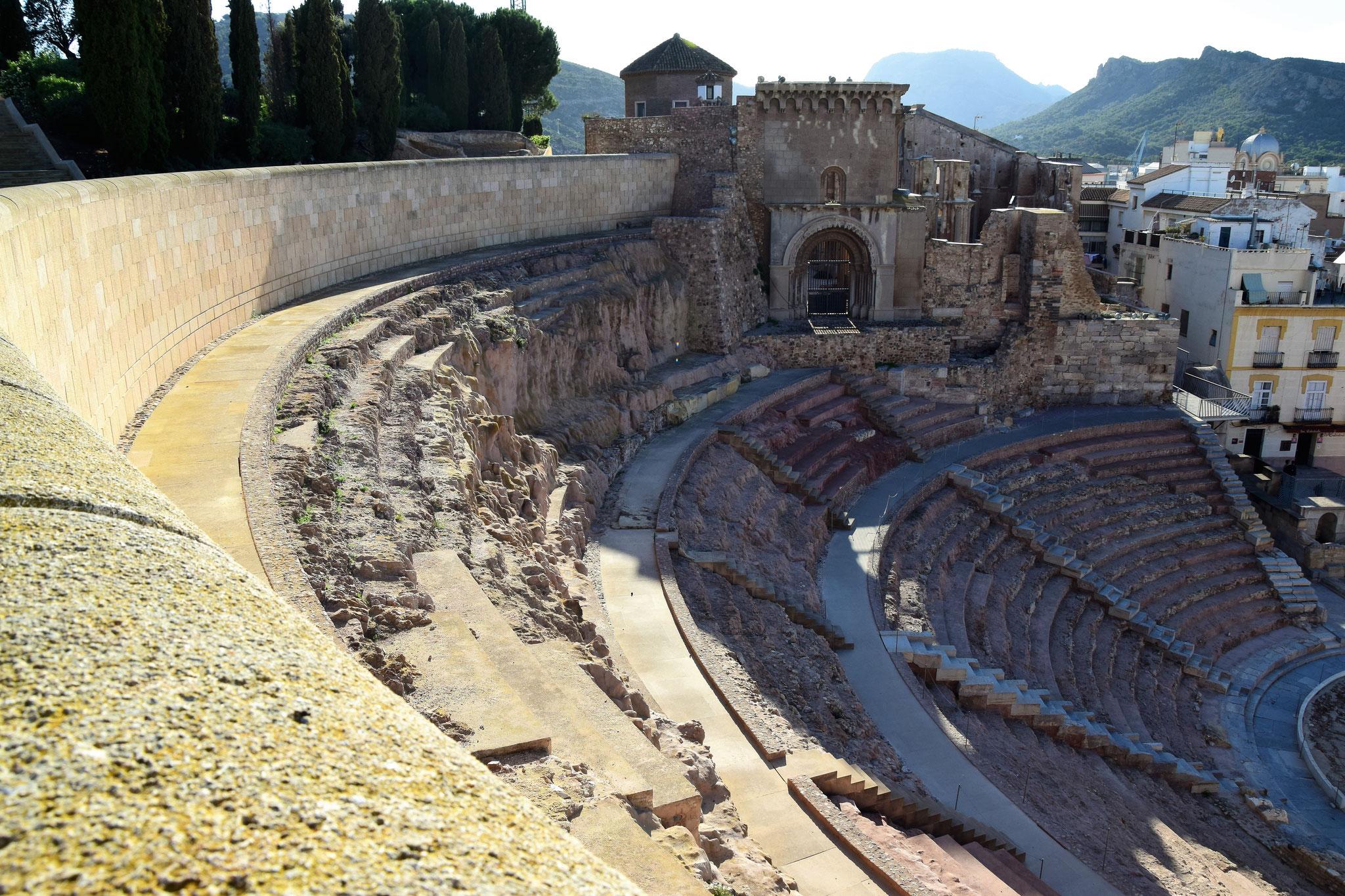 Teatro Romano, erbaut zwischen 5.-1. Jahrhundert v.Chr., erst 1987 entdeckt