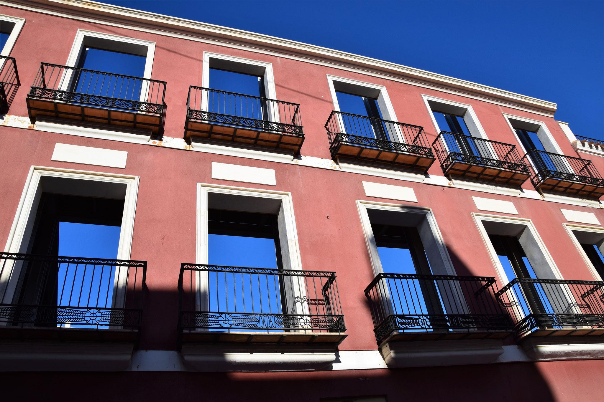 ...wie auch hier und des öfteren in Cartagena zu sehen