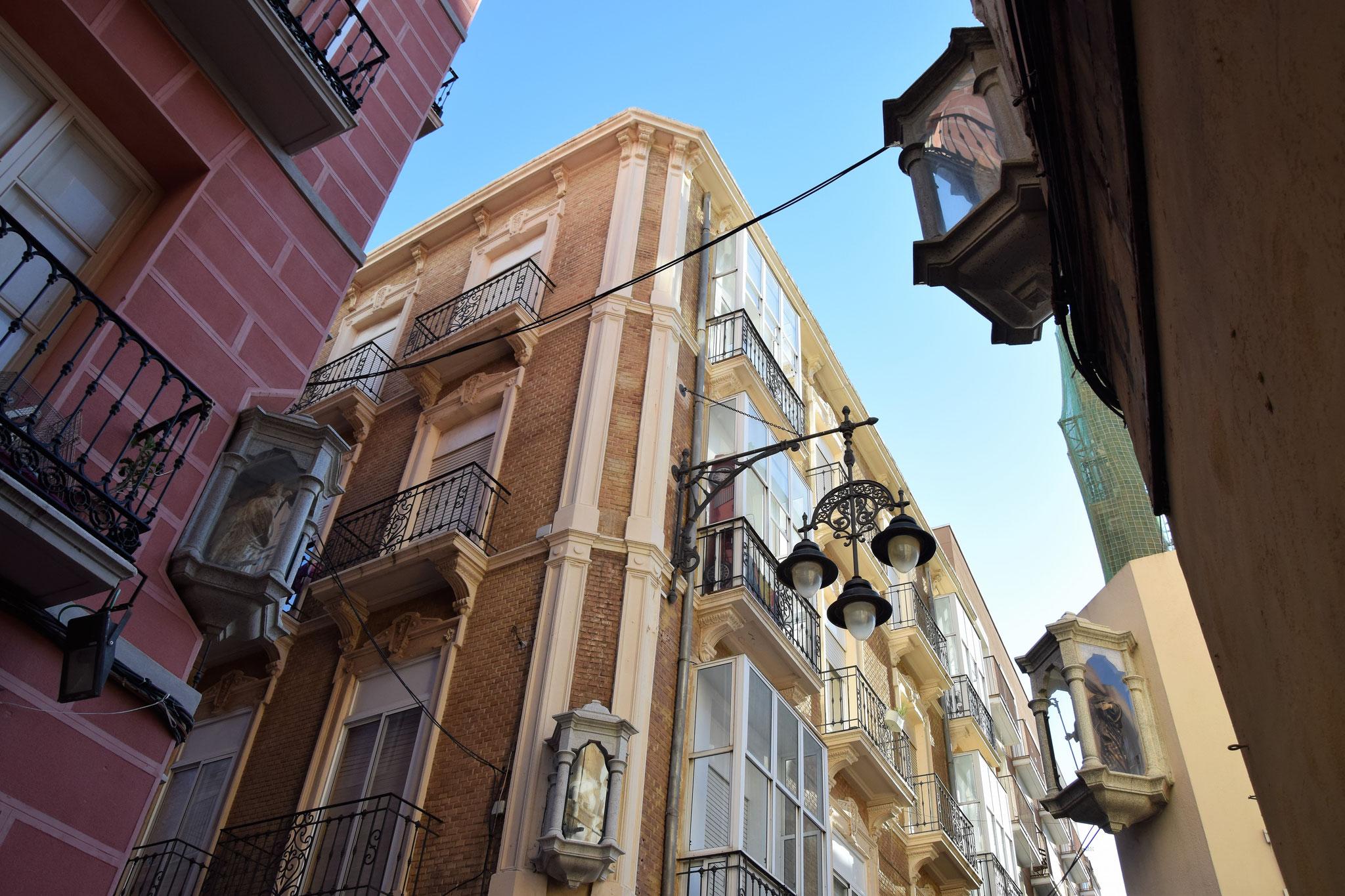 Straße der vier Heiligen - Calle Cuatro Santos