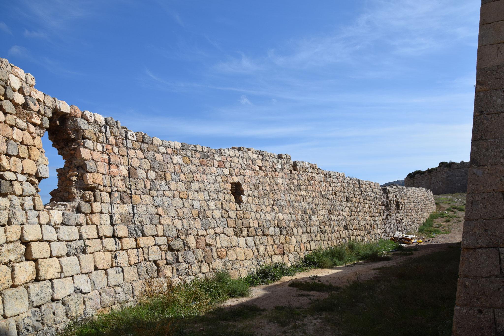 Castillo de los Moros - das Schloss der Mauren aus dem 18. Jahrhundert, eine Wehranlage